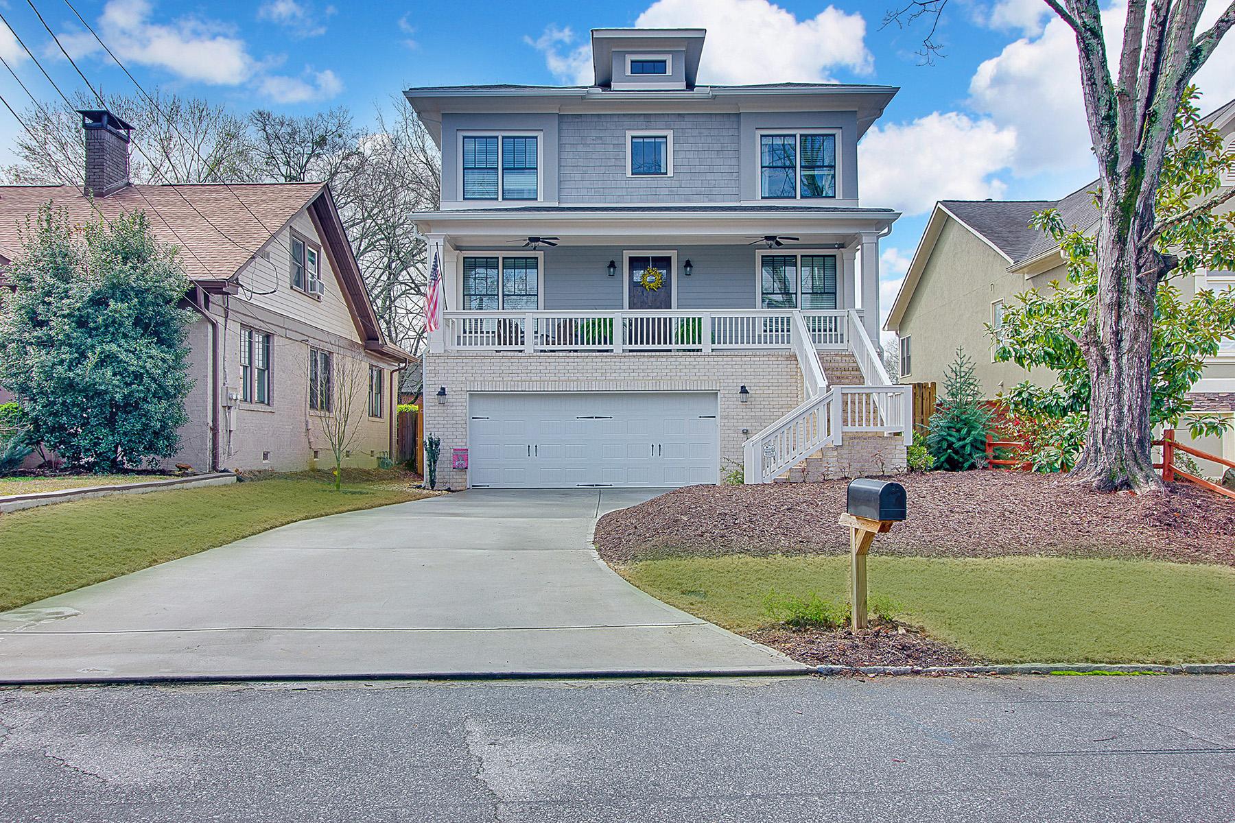 단독 가정 주택 용 매매 에 Brookhaven Heights Home With The Finest Finishes 1157 Oglethorpe Avenue Brookhaven, 조지아 30319 미국