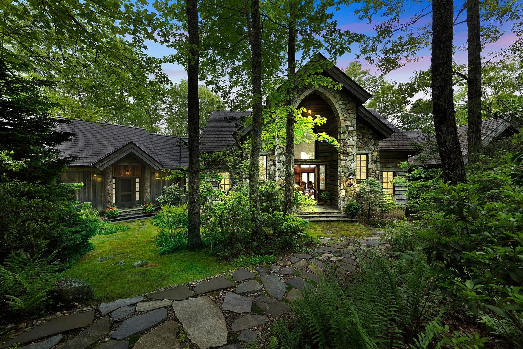 Single Family Homes for Active at 673 Panthertown Road Lake Toxaway, North Carolina 28747 United States