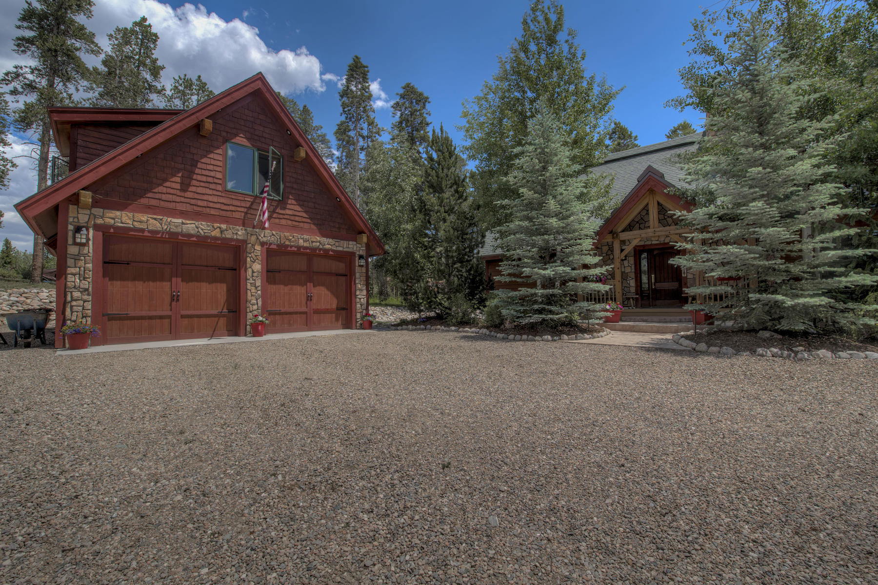 Single Family Homes for Sale at Beautiful Post & Beam Home 1066 GCR 642, Grand Lake, Colorado 80447 United States