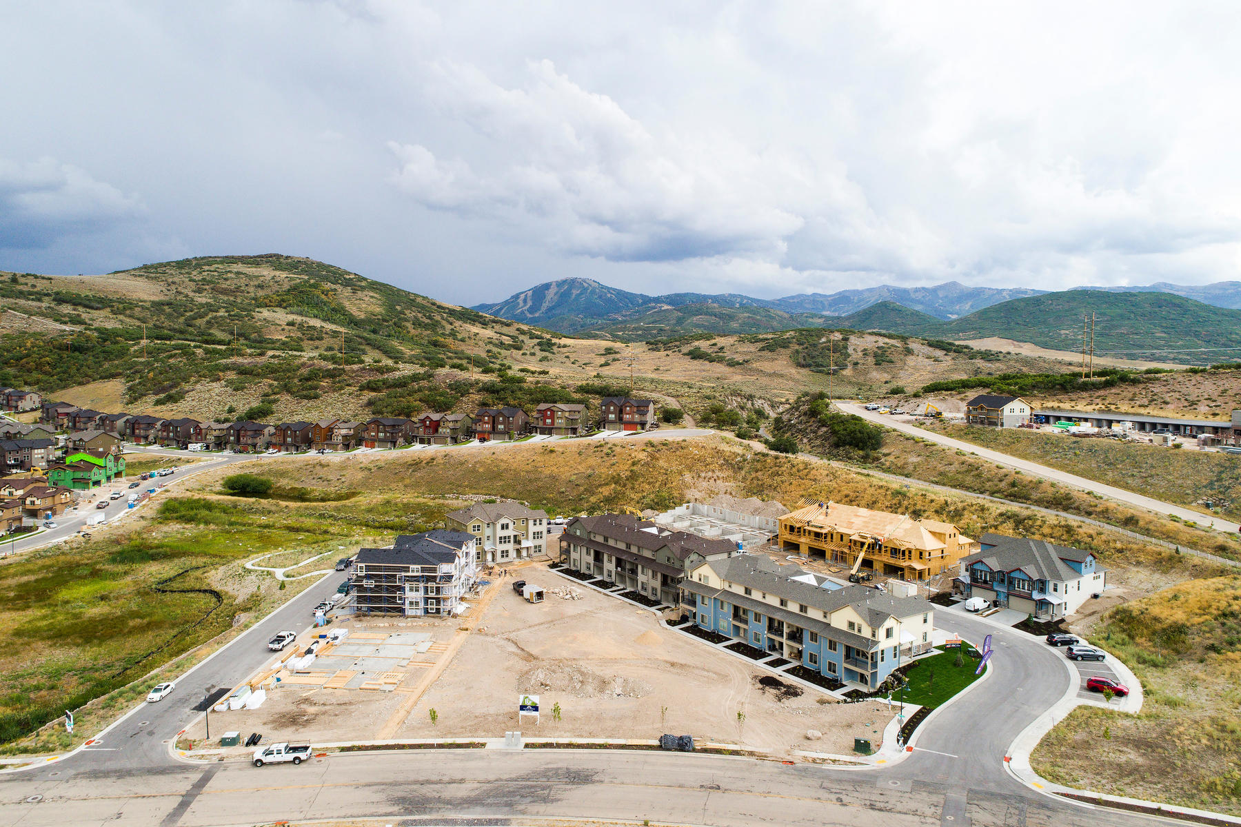 townhouses for Sale at Brand New Beautiful Townhome Just 6 Minutes to Historic Park City 1097 Cattail Ct #G4, Heber, Utah 84032 United States