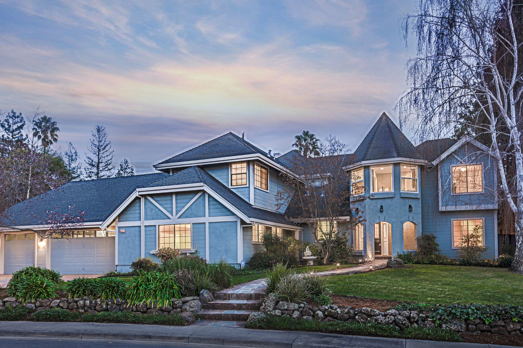 Single Family Homes for Active at Stunning Custom in Weibel 46434 Briar Place Fremont, California 94539 United States