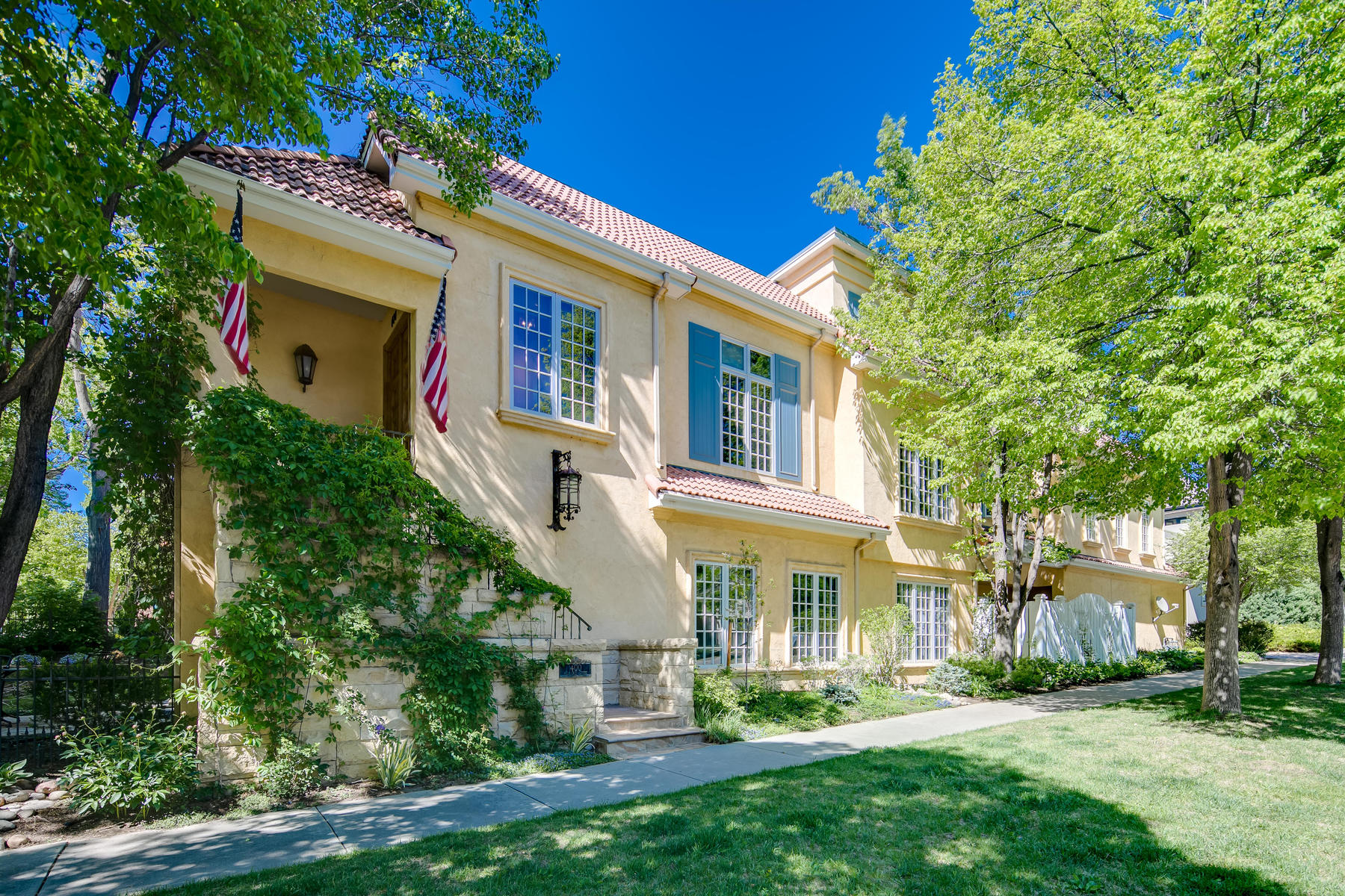 Townhouse for Active at Enchanting French Country Home In The Heart Of Cherry Creek 400 Milwaukee Street Denver, Colorado 80206 United States