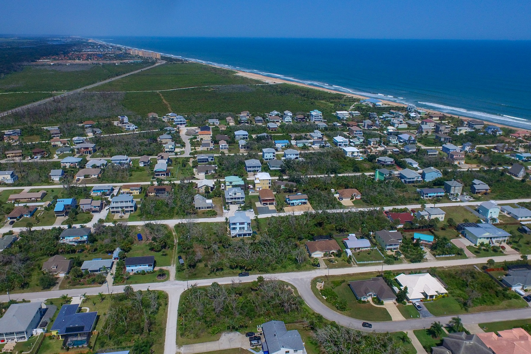 Land for Sale at Build Your Dream Home on This Over-Sized Lot Just Steps from the Beach! 7 Central Avenue Palm Coast, Florida 32137 United States
