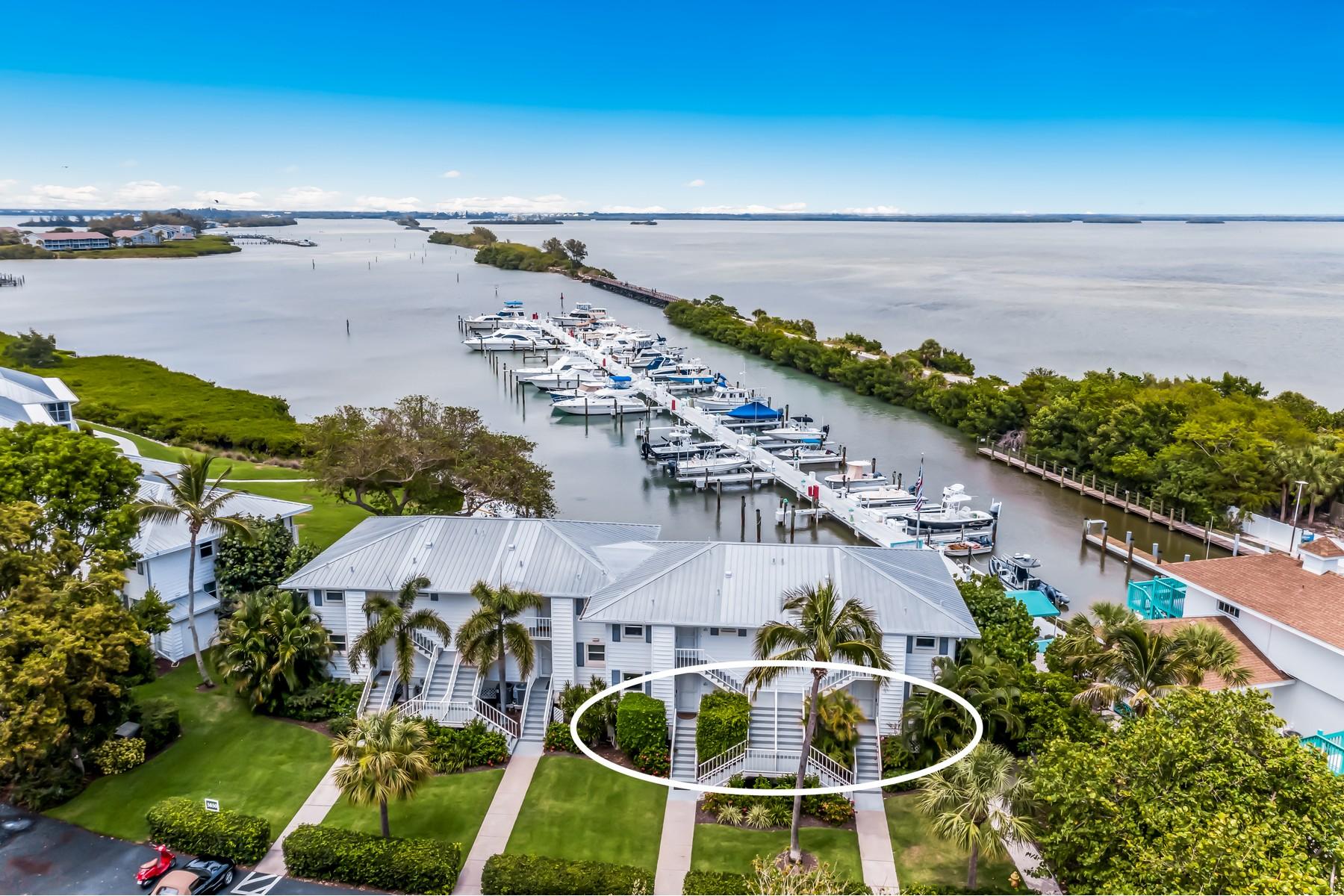 Condominiums için Satış at Marina Village 1 and 3 5850 Gasparilla Road M1 and M3, Boca Grande, Florida 33921 Amerika Birleşik Devletleri