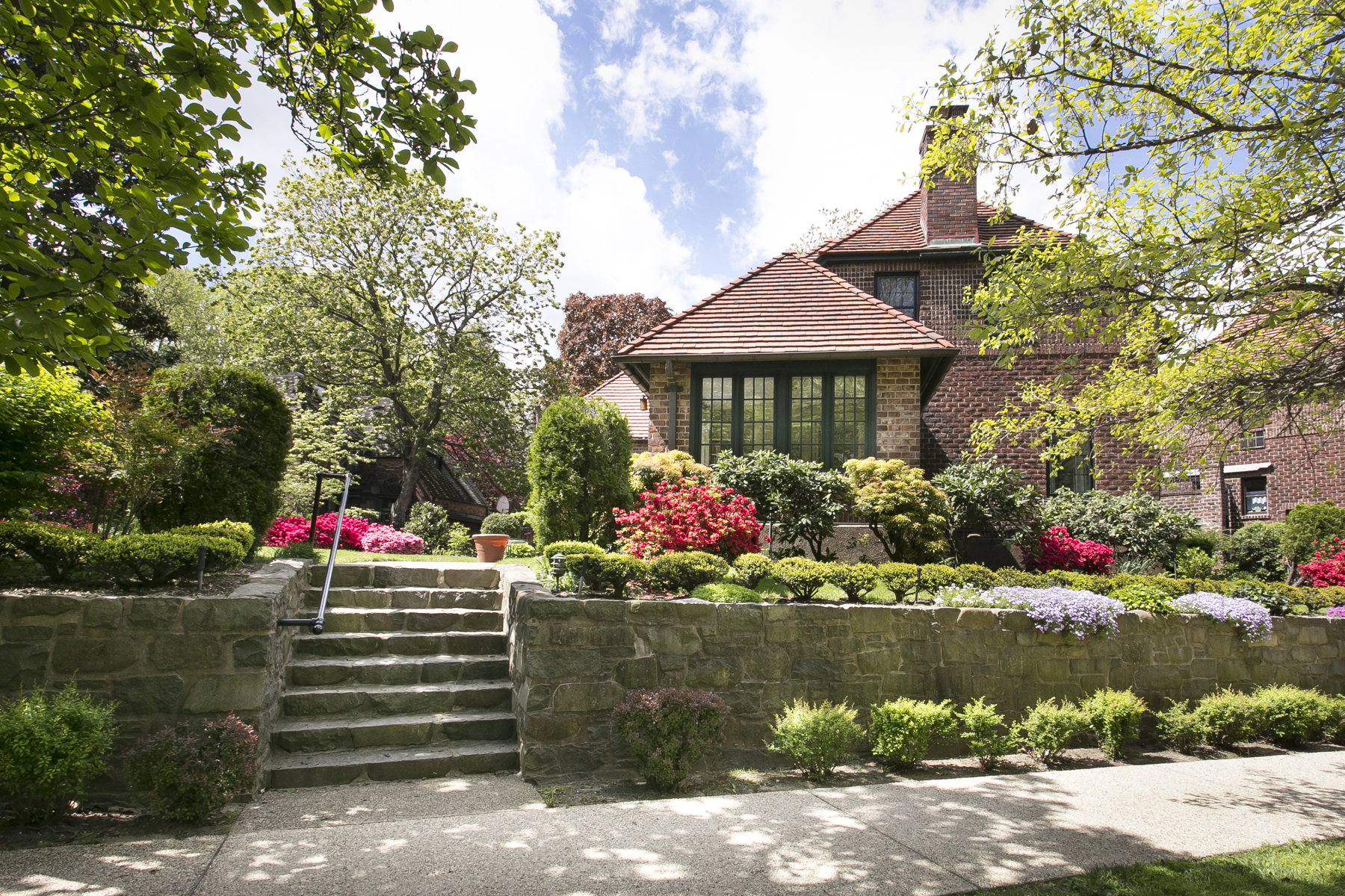 "Single Family Home for Sale at ""STORYBOOK HOUSE IN IDYLLIC LOCATION"" 11 Markwood Road, Forest Hills Gardens Forest Hills, New York 11375 United States"