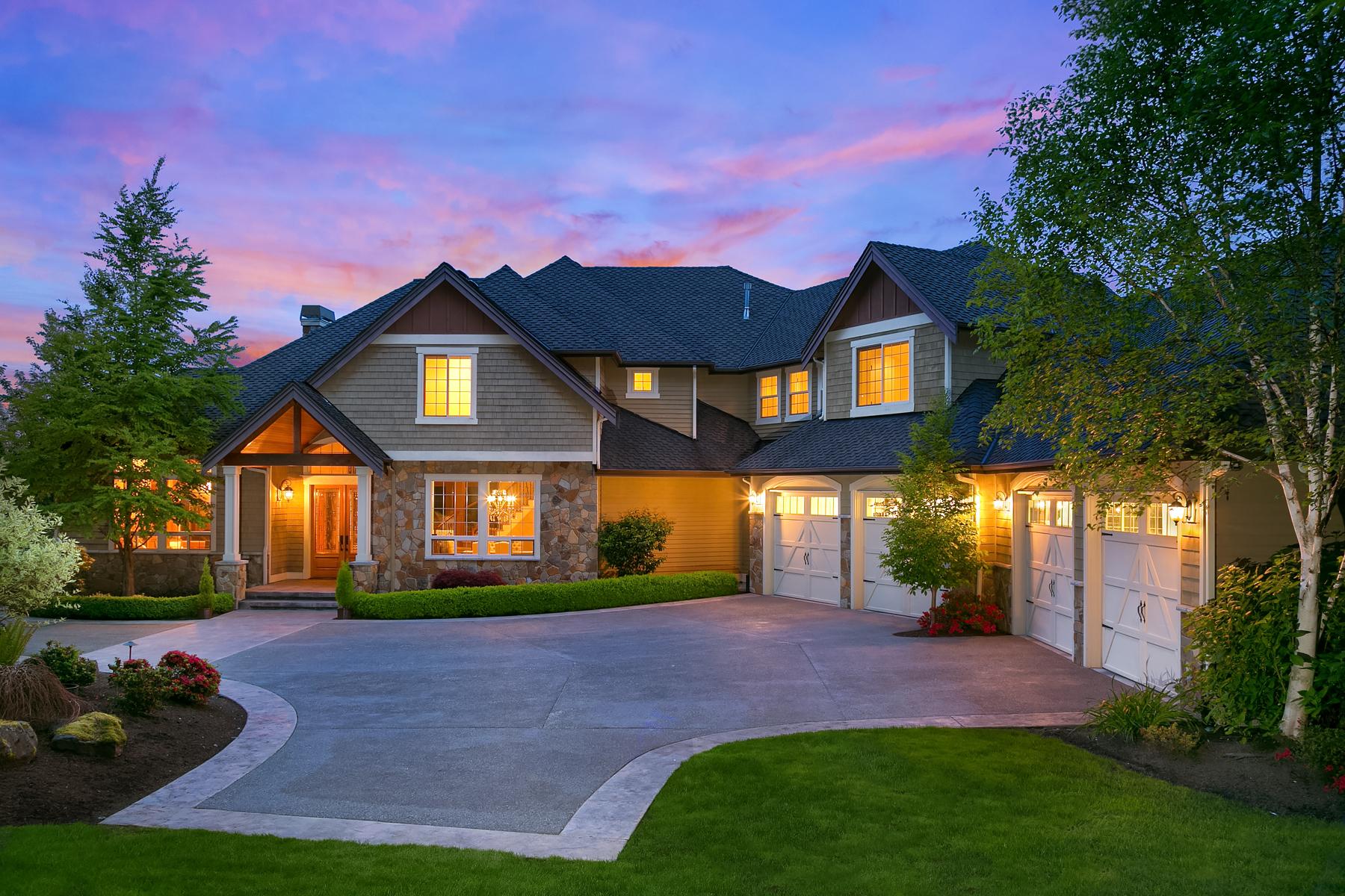 Частный односемейный дом для того Продажа на Exquiste Edmonds Estate 14131 67th Ave SE Edmonds, Вашингтон 98026 Соединенные Штаты