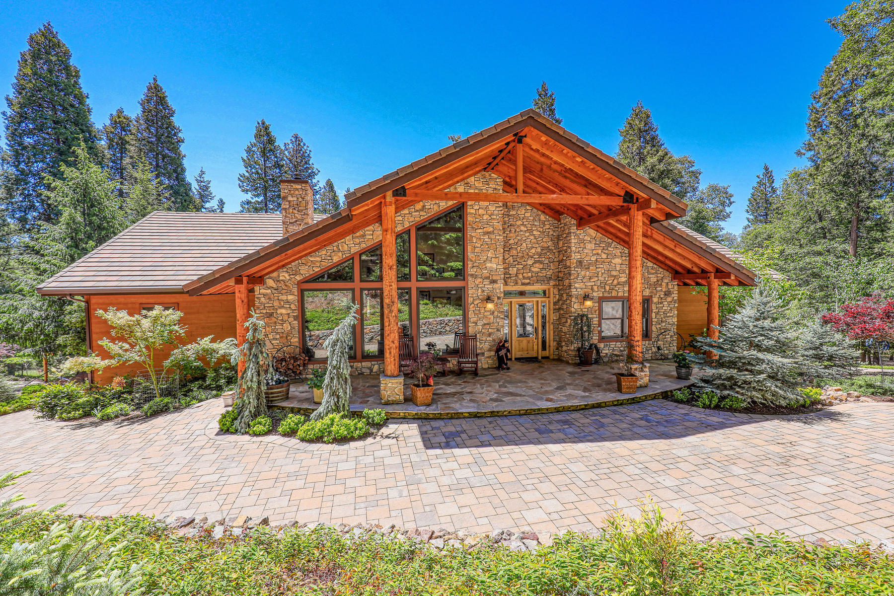 Single Family Homes for Active at Custom Tahoe-Style Eco Home 13905 Gemini Court Nevada City, California 95959 United States