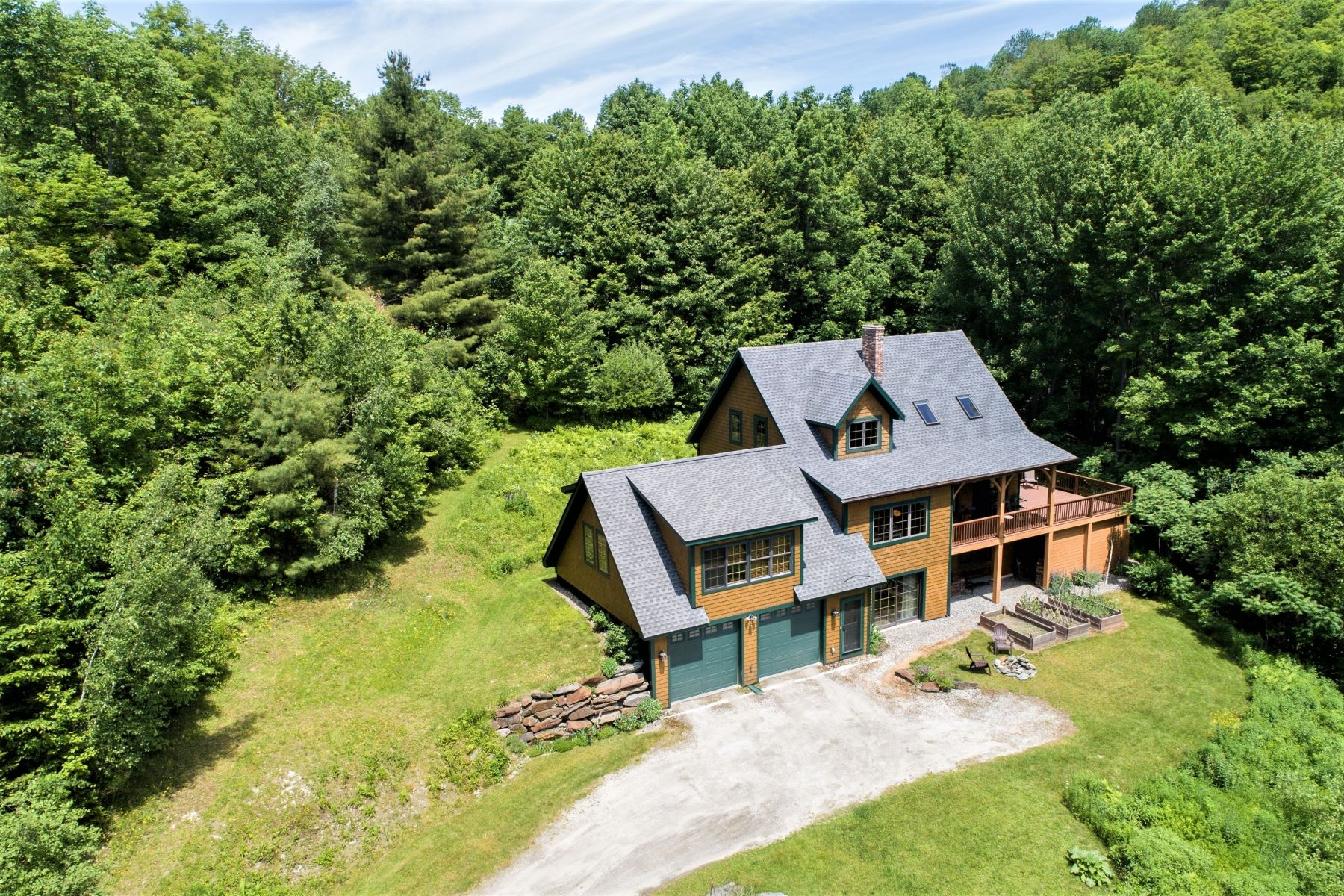 Single Family Homes for Sale at Three Bedroom Contemporary in Bethel 643 Campbell Road Bethel, Vermont 05032 United States