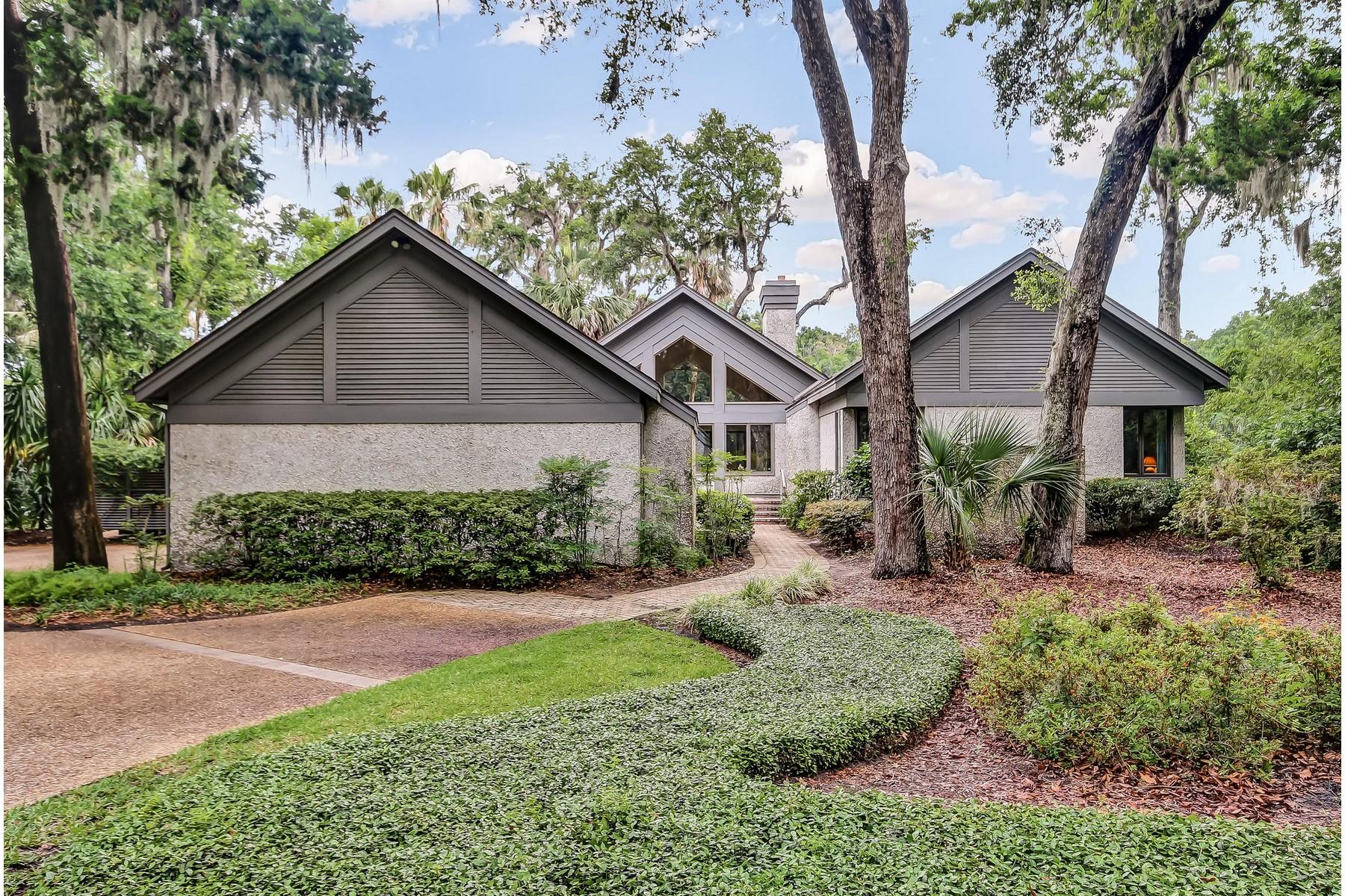 Частный односемейный дом для того Продажа на 9 Sea Marsh 9 Sea Marsh Road Amelia Island, Флорида 32034 Соединенные Штаты