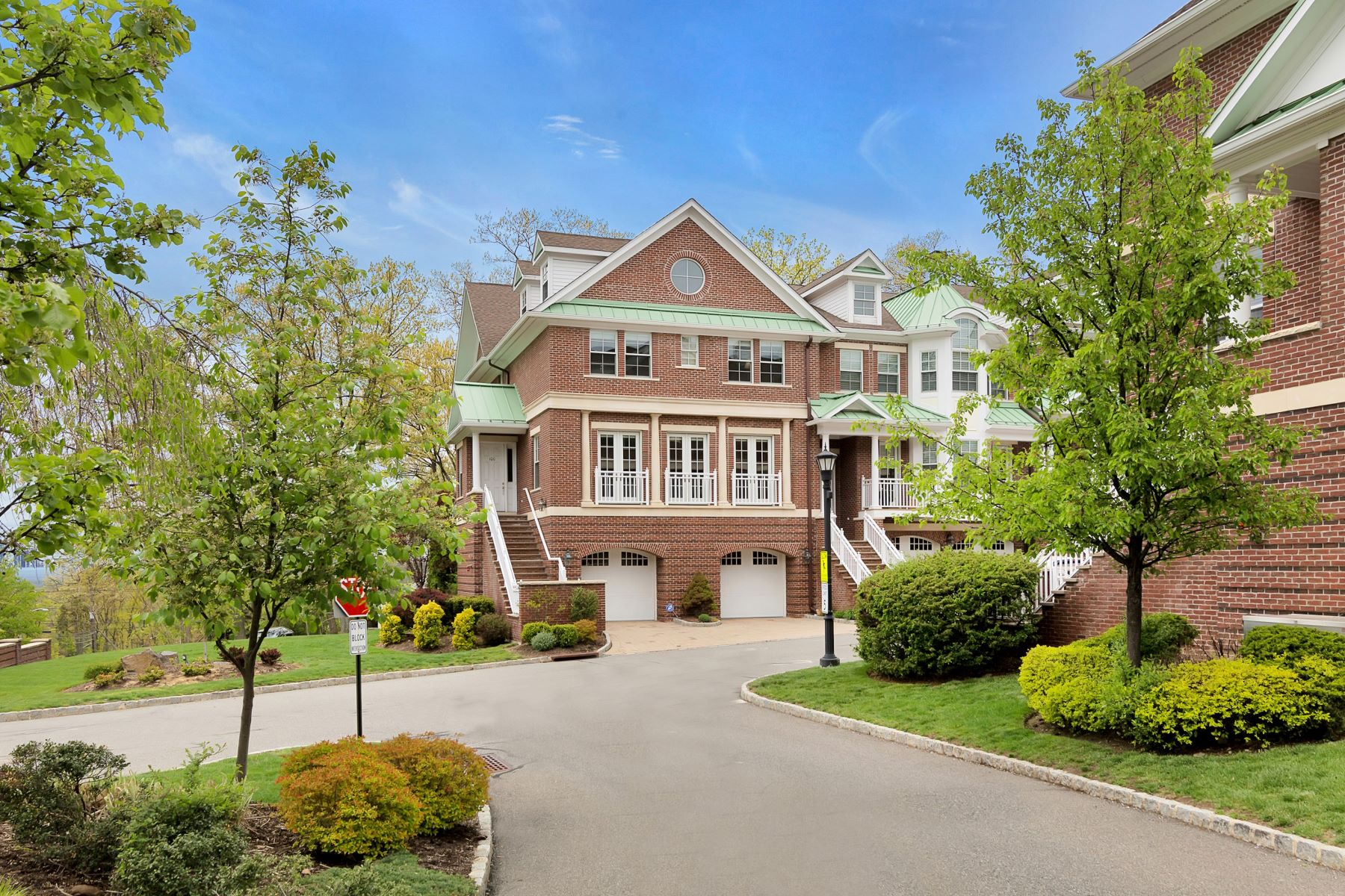 Townhouse for Sale at Luxury Townhouse 100 Heights Lane, Tenafly, New Jersey, 07670 United States