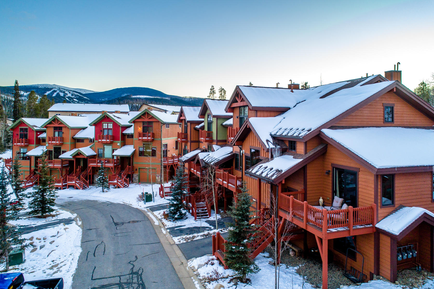 Single Family Home for Active at Beautifully furnished end unit in the heart of Winter Park 1040 Bear Trl Winter Park, Colorado 80482 United States