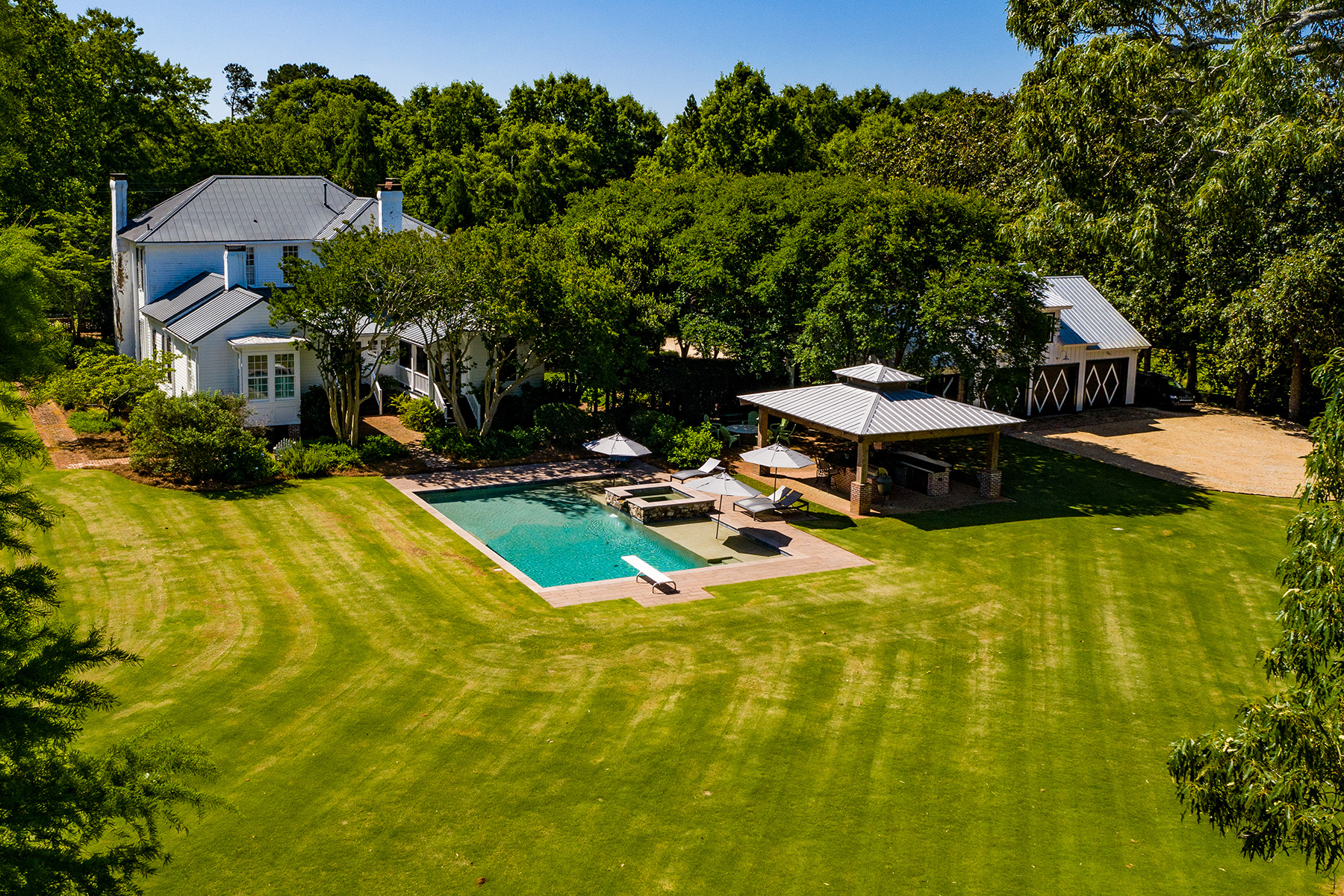 Single Family Homes for Sale at Historic Home Situated on Over Three Acres! 503 N Main Street Madison, Georgia 30650 United States