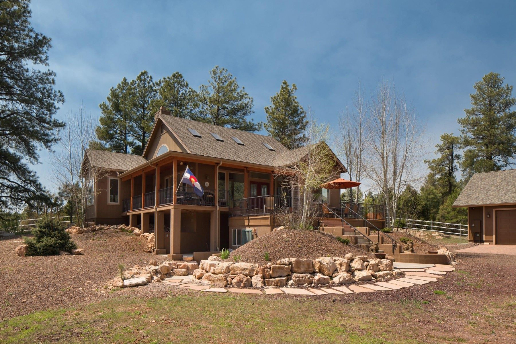Moradia para Venda às Exclusive retreat in a mountain oasis 5600 Lake Mary Rd Flagstaff, Arizona, 86005 Estados Unidos