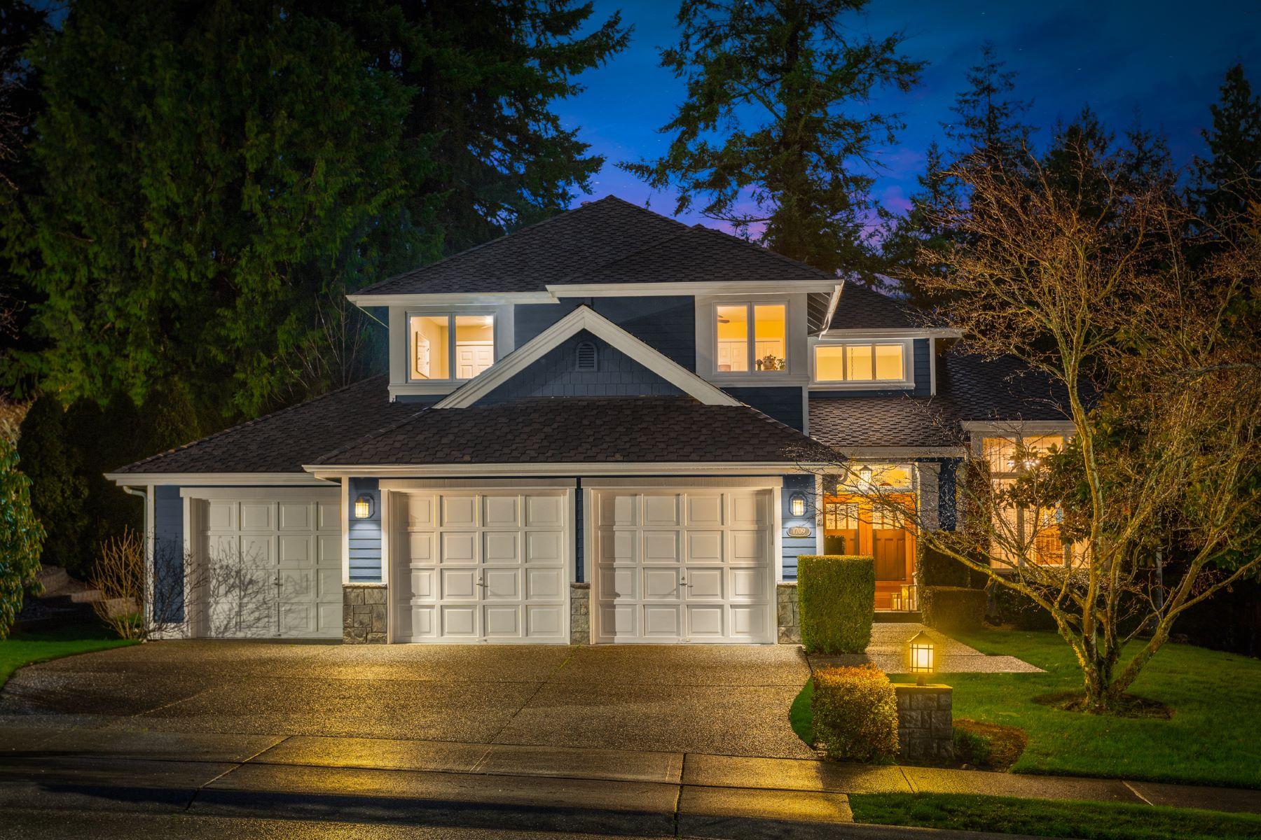 Single Family Homes por un Venta en Buchan Estate at The Lakes 1709 166th Place SE Mill Creek, Washington 98012 Estados Unidos