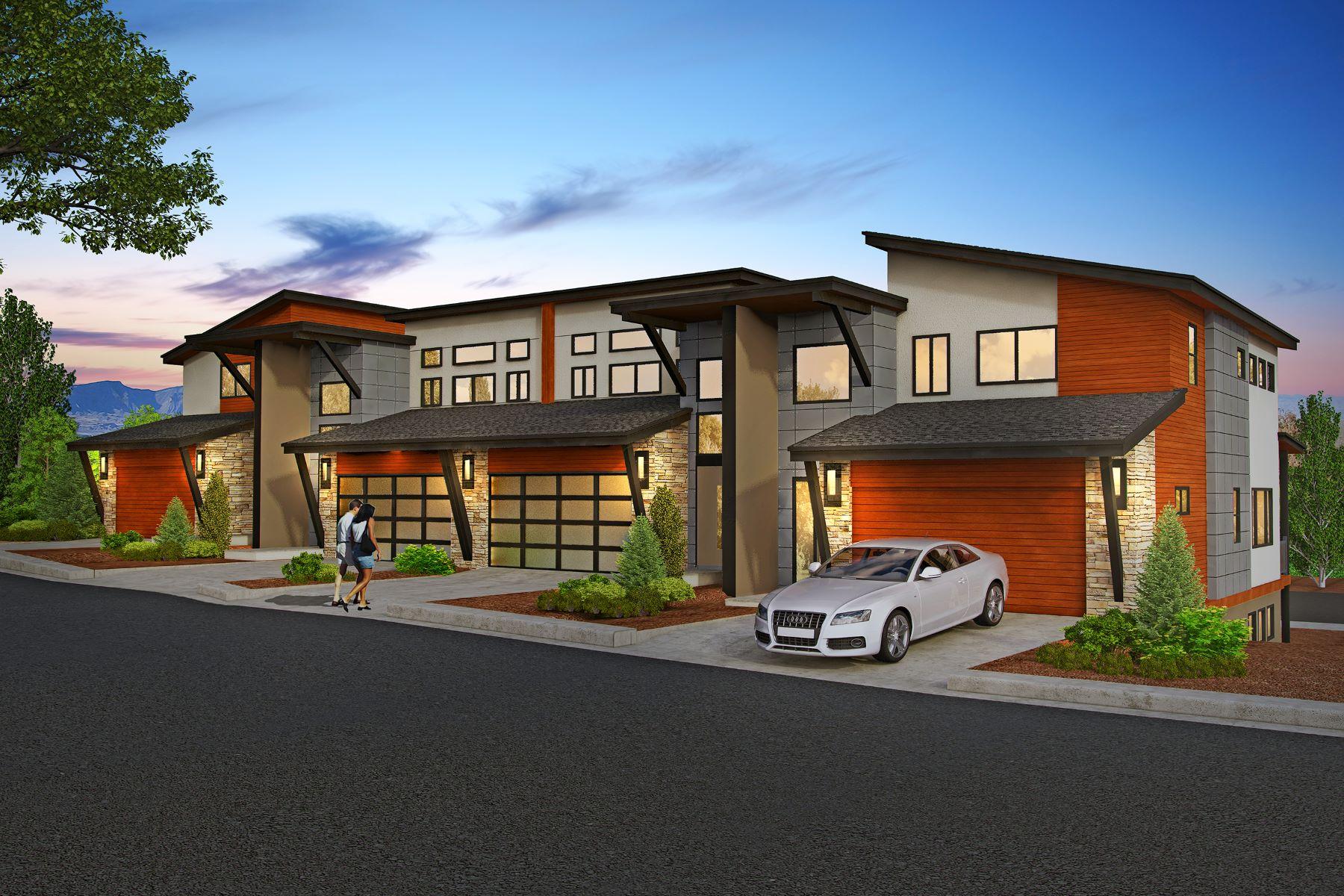 Maison accolée pour l Vente à Mountain Contemporary at Shadowrock 232 Overlook Ridge, Carbondale, Colorado, 81623 États-Unis