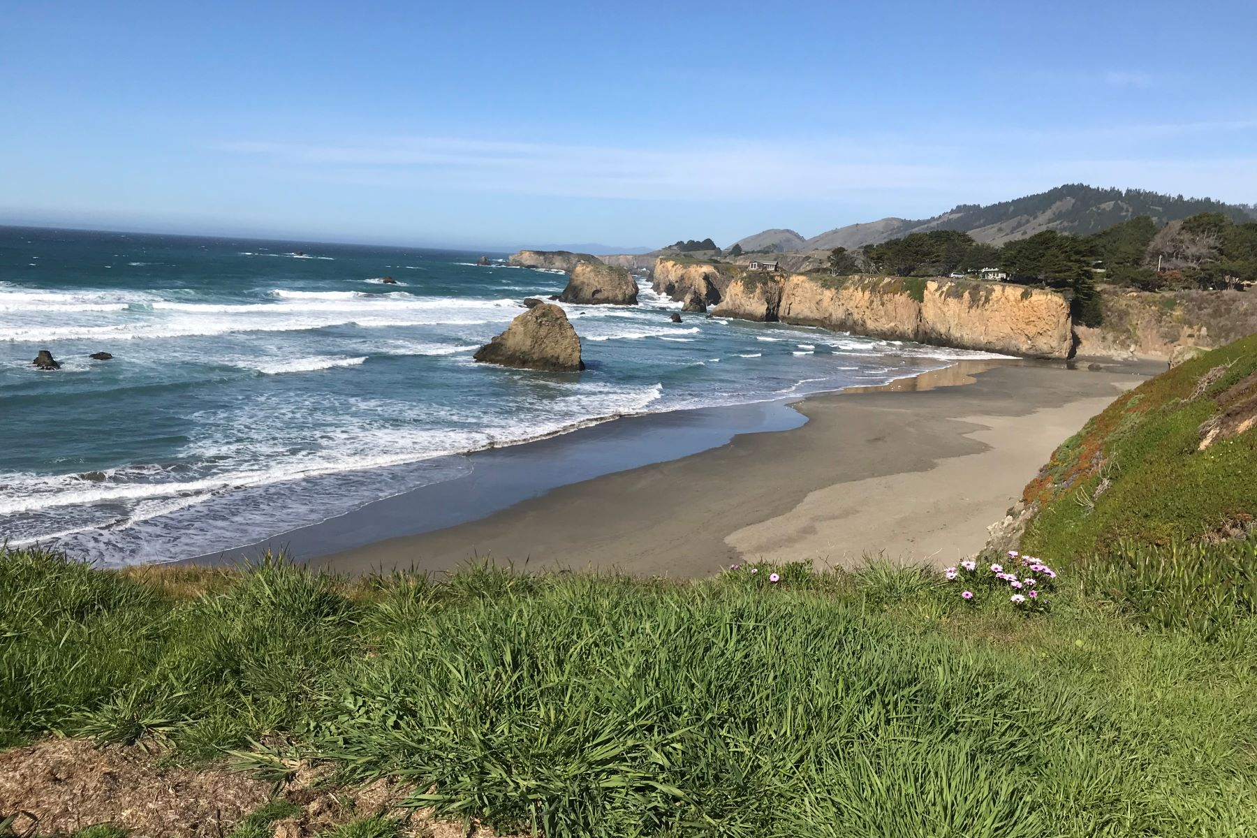 Land for Sale at Rare, Oceanfront Beauty 32874 Ocean Meadows Circle Fort Bragg, California 95437 United States