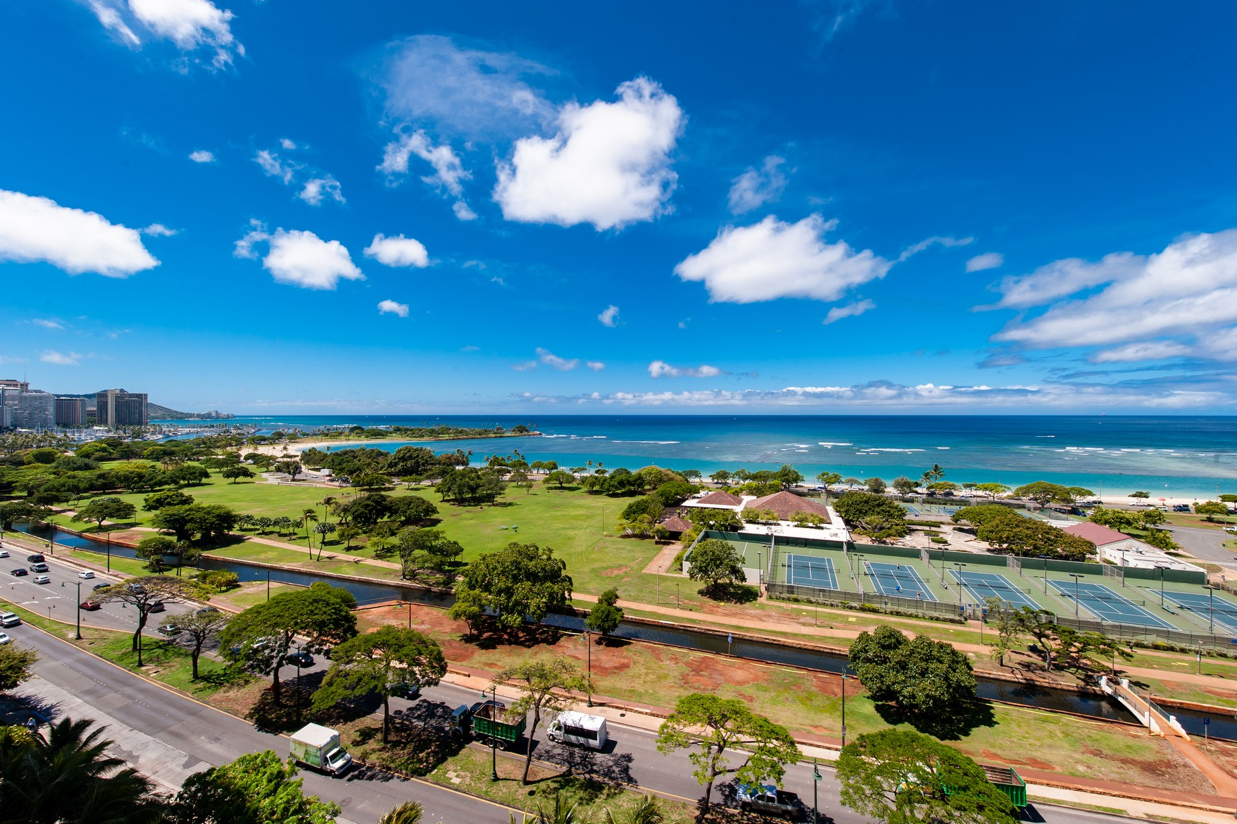 Condominiums for Active at Spectacular Ocean View Condo 1288 Ala Moana Blvd #12E/F Honolulu, Hawaii 96814 United States