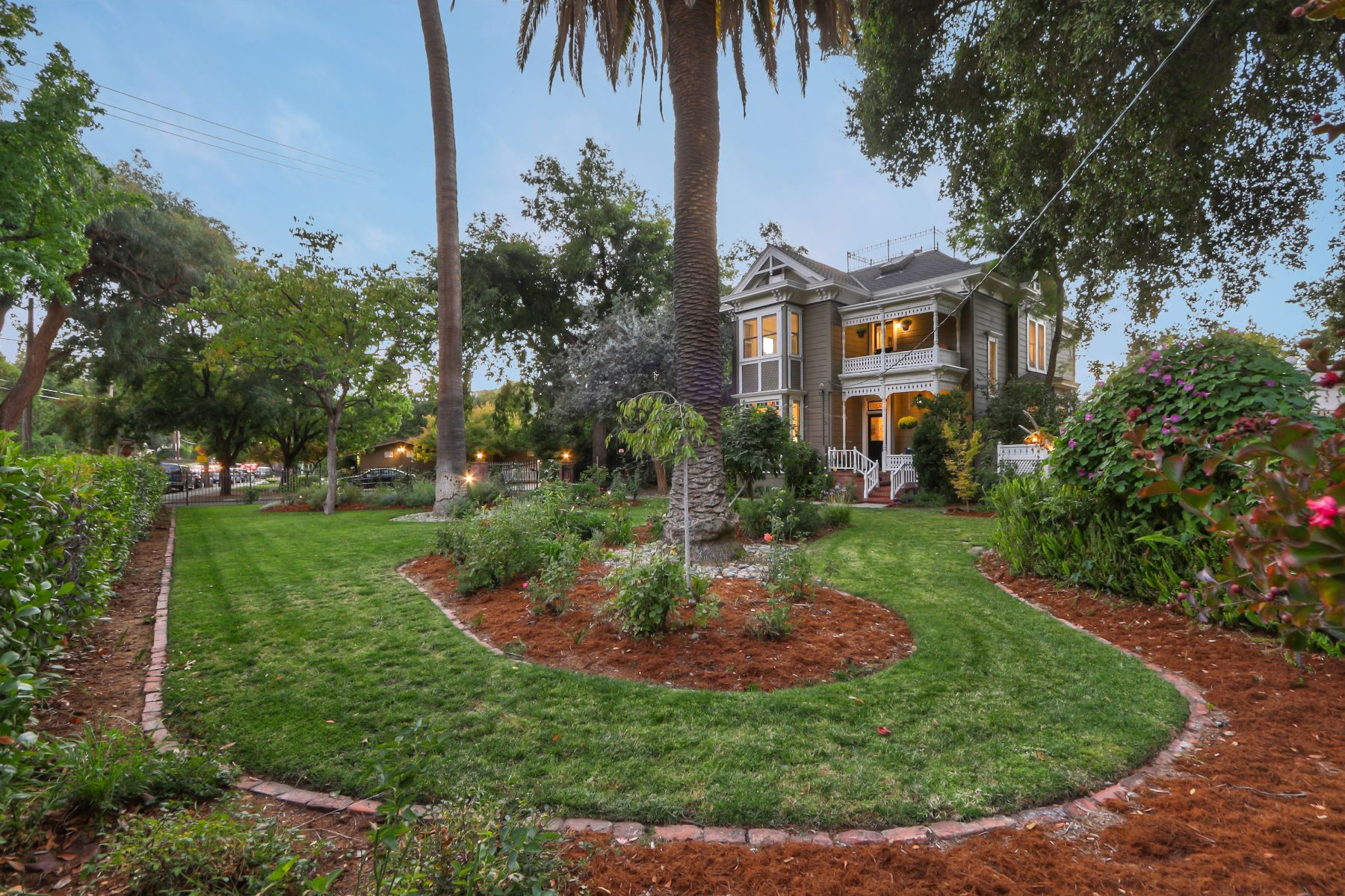 Single Family Homes for Sale at Iconic Victorian in Downtown Los Gatos! 207 Los Gatos Boulevard Los Gatos, California 95030 United States