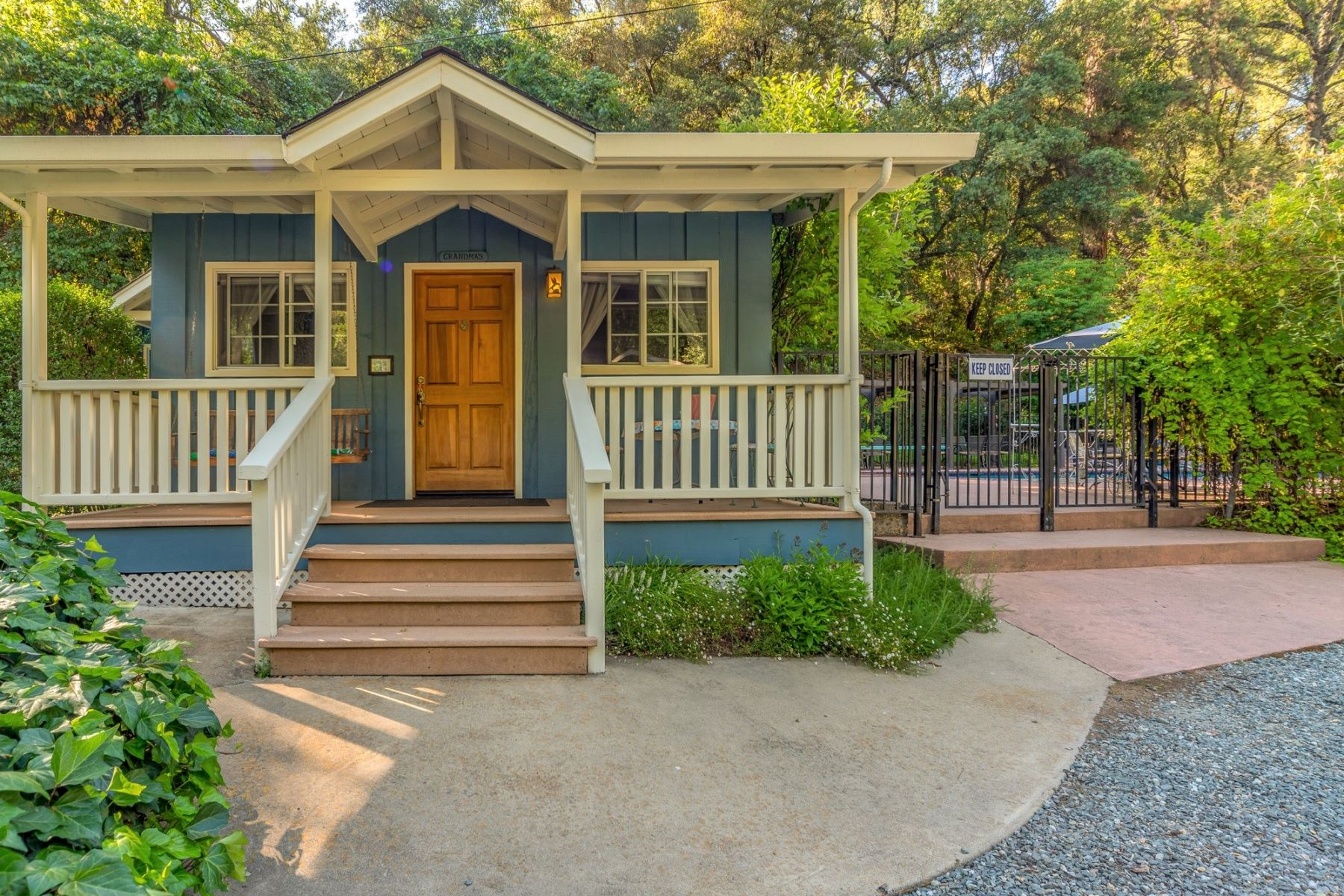 Single Family Homes for Sale at Creekside Country Retreat 2455 Murphys Grade Road Murphys, California 95247 United States
