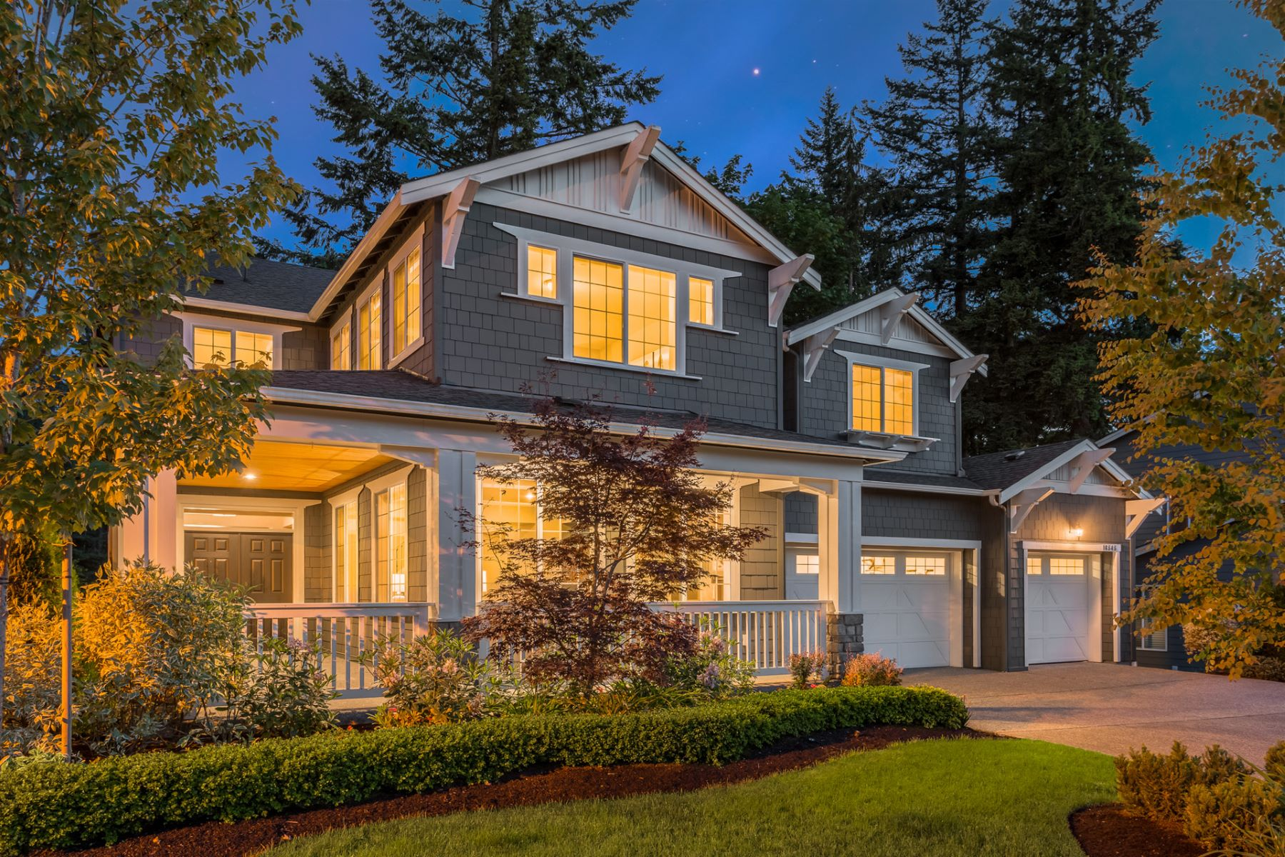 Single Family Home for Sale at Refined Cougar Mountain Living 16545 SE 61st Place Bellevue, Washington, 98006 United States