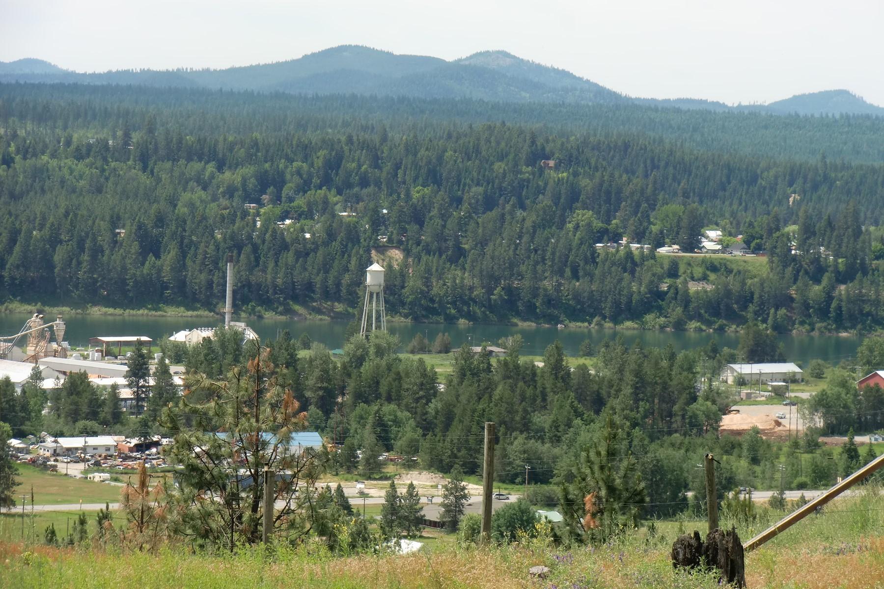 أراضي للـ Sale في Spectacular View Property Lot 12 W Diamond Heights Rd, Oldtown, Idaho 83822 United States