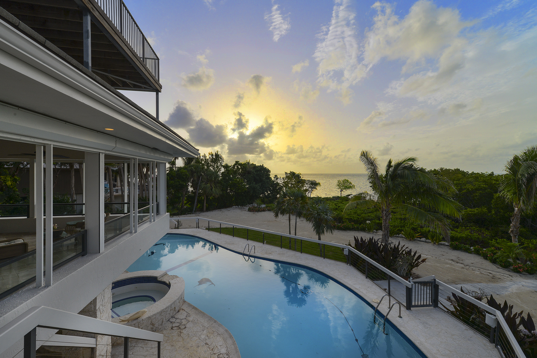 Single Family Home for Sale at Truly Unique Oceanfront Home at Ocean Reef Club 19 Sunrise Cay Drive Key Largo, Florida 33037 United States
