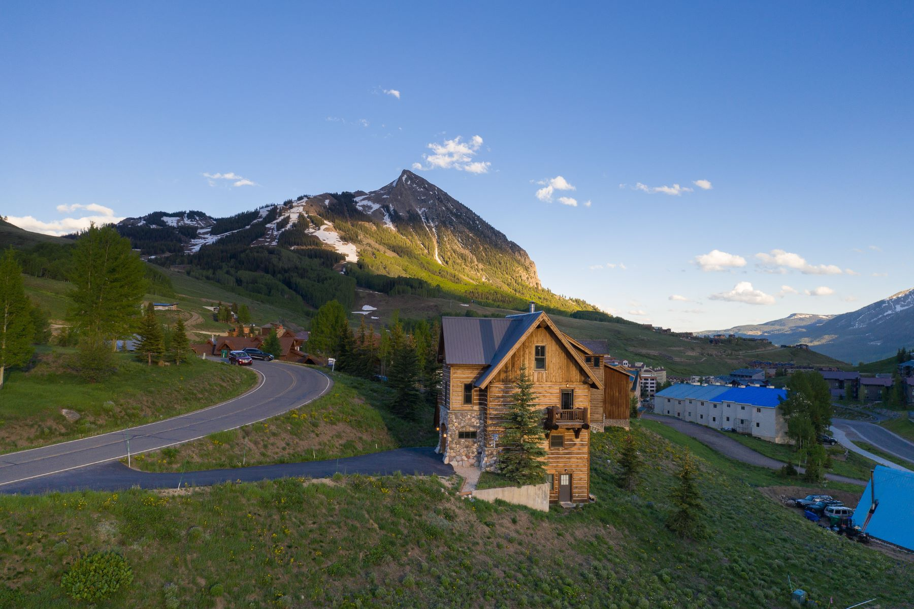 Single Family Homes for Sale at Crested Butte Ski Chalet 15 Whetstone Road Mount Crested Butte, Colorado 81225 United States