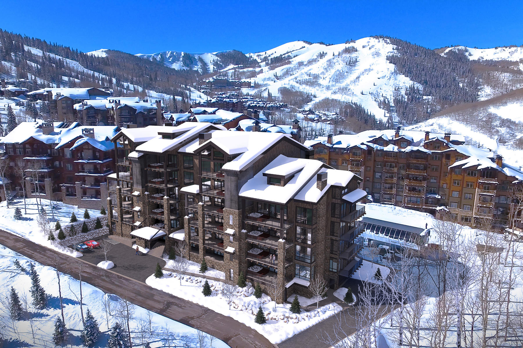 Condominiums for Sale at Deer Valley's Newest Ski-In, Ski-Out Luxury Residences 7697 Village Way #403 Park City, Utah 84060 United States