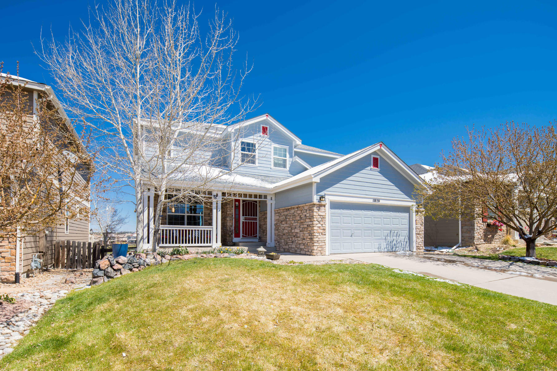 Single Family Homes for Sale at Golf Course Charm 11820 Mill Valley Street Parker, Colorado 80138 United States