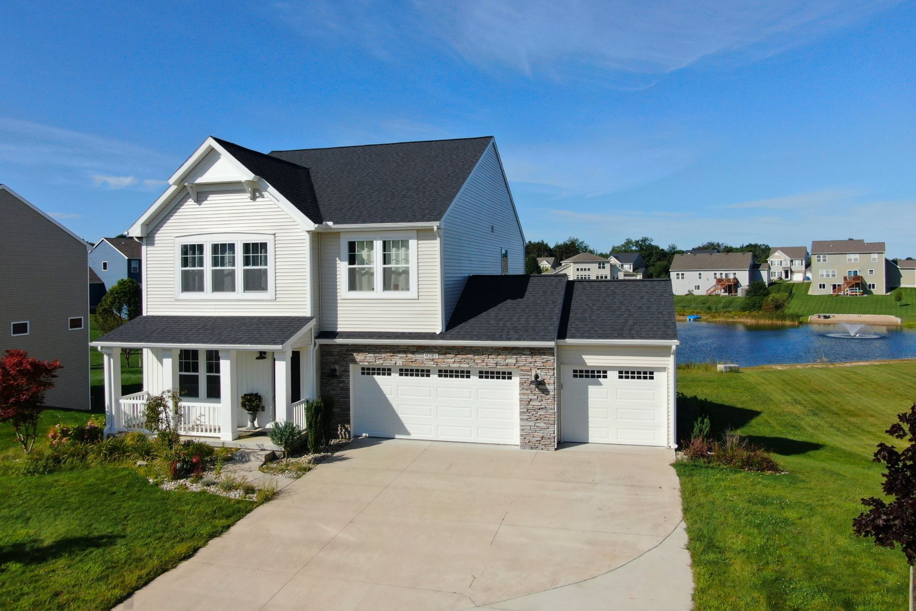 Single Family Homes for Sale at Refined West Olive 9285 Pier Place West Olive, Michigan 49460 United States