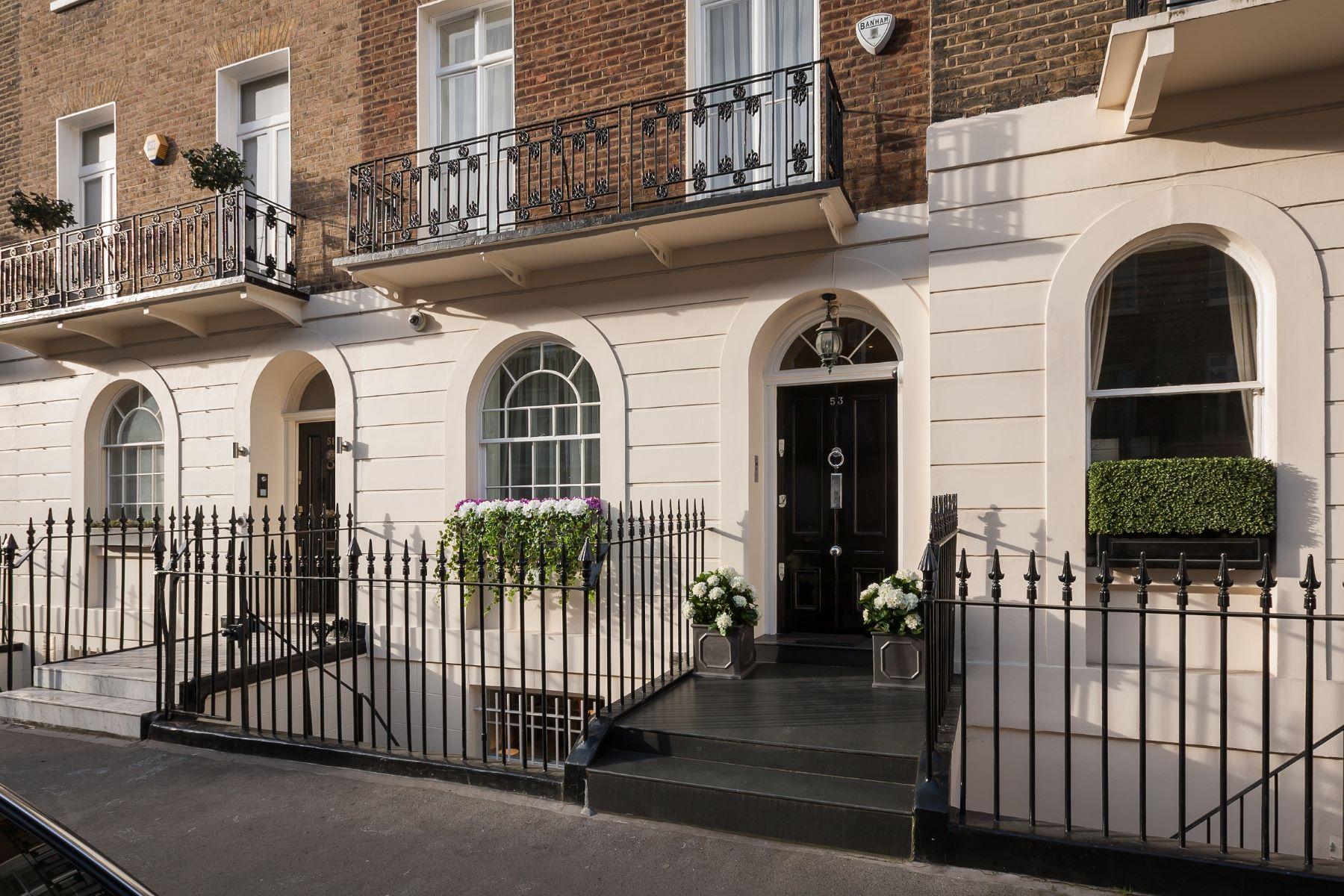 Casa Unifamiliar por un Alquiler en Lower Belgrave Street, Belgravia, SW1W London, Inglaterra, Reino Unido