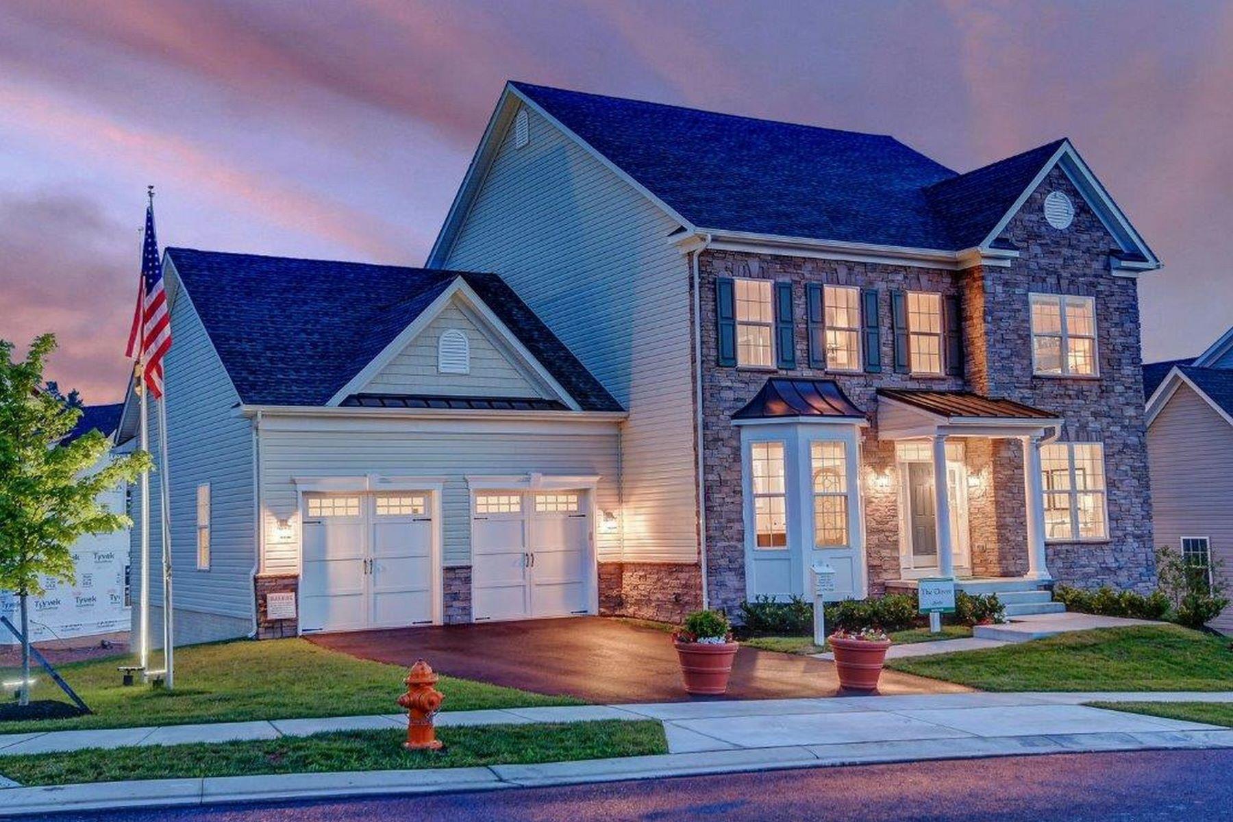 Single Family Homes pour l Vente à Chapel Knoll Estates 10816 White Trillium Road, Perry Hall, Maryland 21128 États-Unis