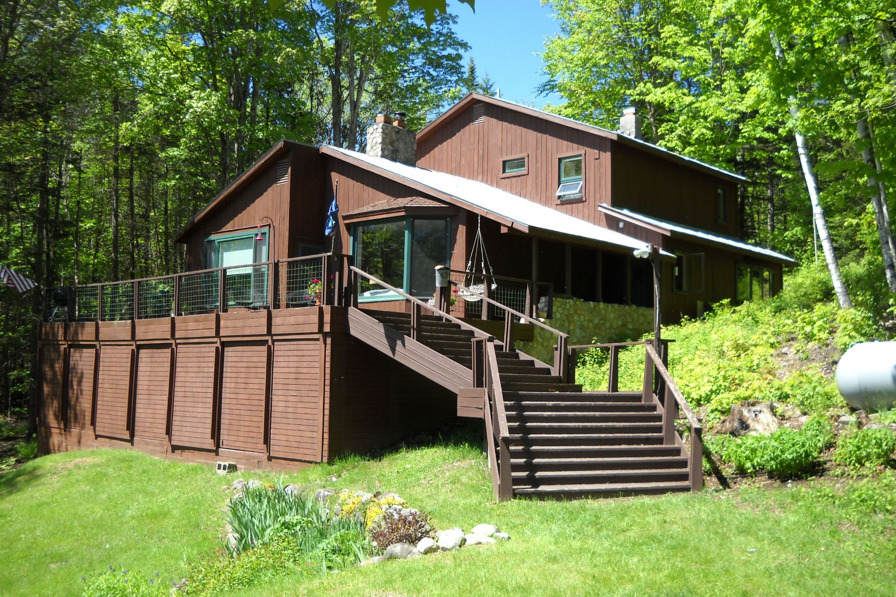 single family homes for Sale at Four Bedroom Contemporary in Topsham 55 Emerson Rd Topsham, Vermont 05076 United States