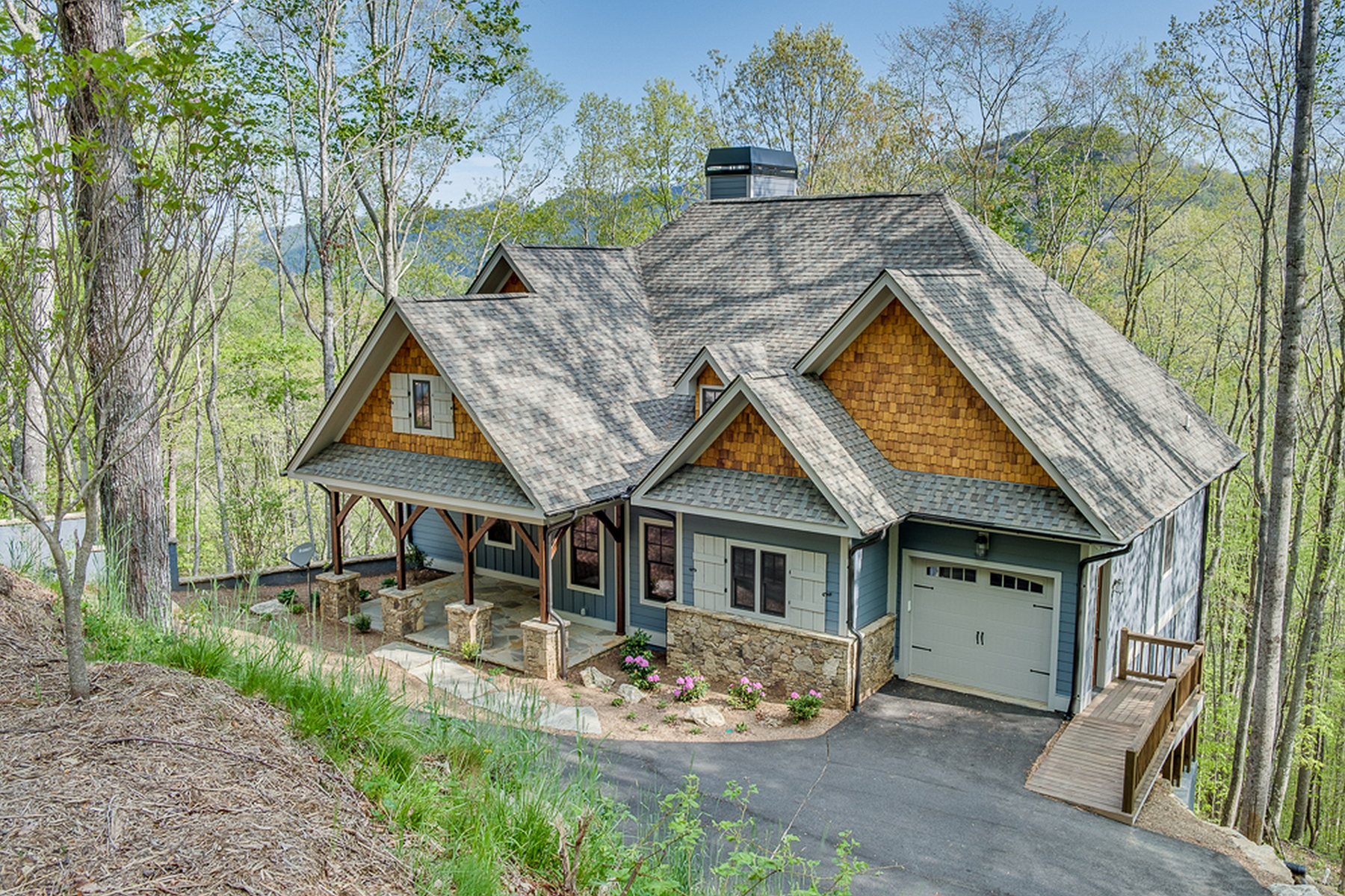 Single Family Homes for Sale at BEAR LAKE RESERVE 1945 Lake Forest Dr Tuckasegee, North Carolina 28783 United States