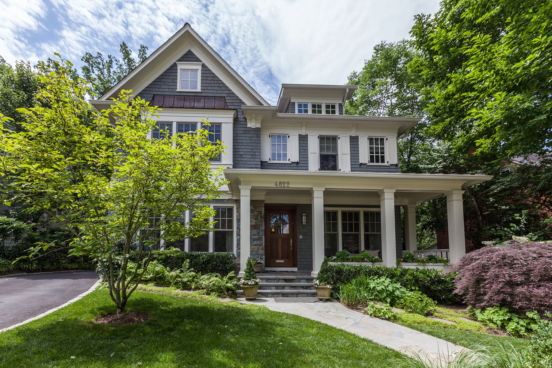 Single Family Home for Sale at 4822 Drummond Avenue, Chevy Chase Chevy Chase, Maryland 20815 United States