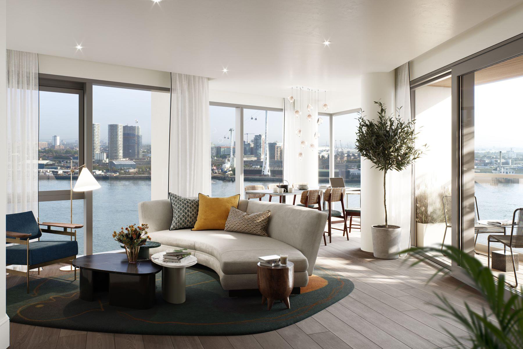 Apartments for Sale at Greenwich Peninsula Building 3 (12.06), Upper Riverside London, England SE10 0SQ United Kingdom