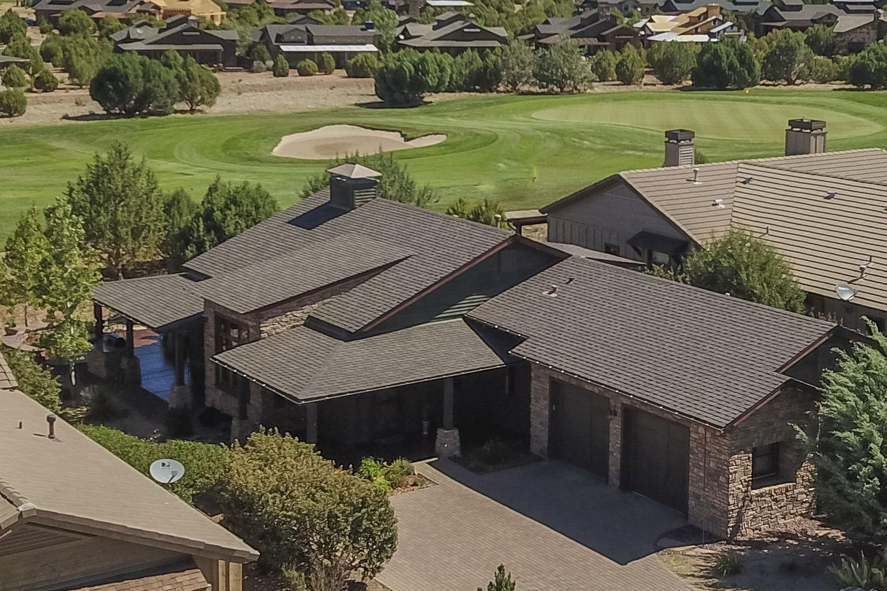 single family homes for Active at Gorgeous Remodel on 2nd Fairway 14772 N Holt Brothers Lane Prescott, Arizona 86305 United States