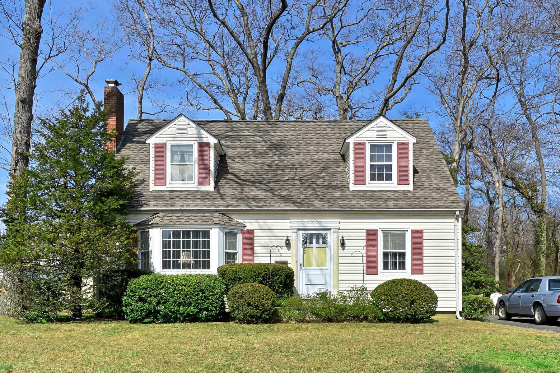 Частный односемейный дом для того Продажа на Charming Cape 605 Chicago Boulevard, Sea Girt, Нью-Джерси 08750 Соединенные Штаты