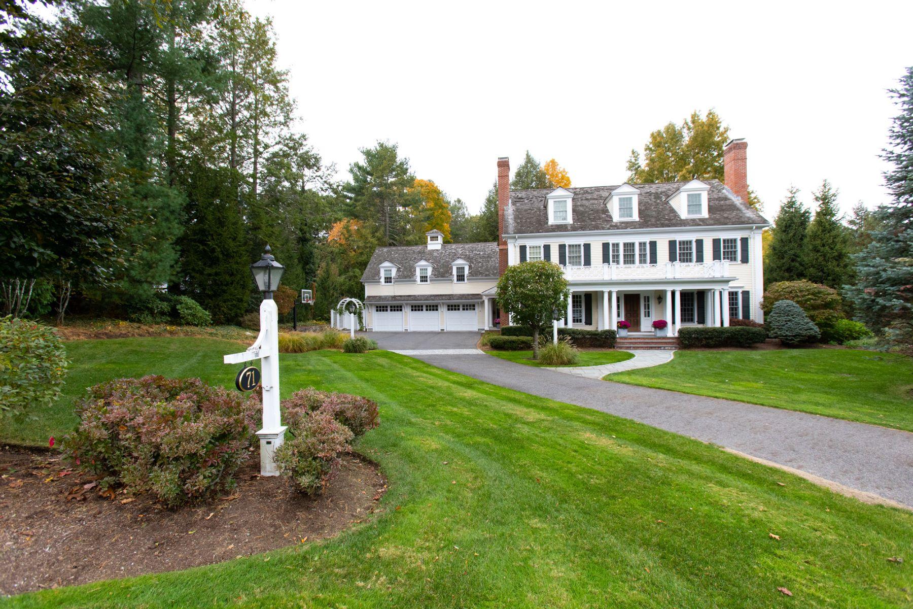 Single Family Homes 为 销售 在 71 Hundreds Rd 韦尔茨利, 马萨诸塞州 02481 美国