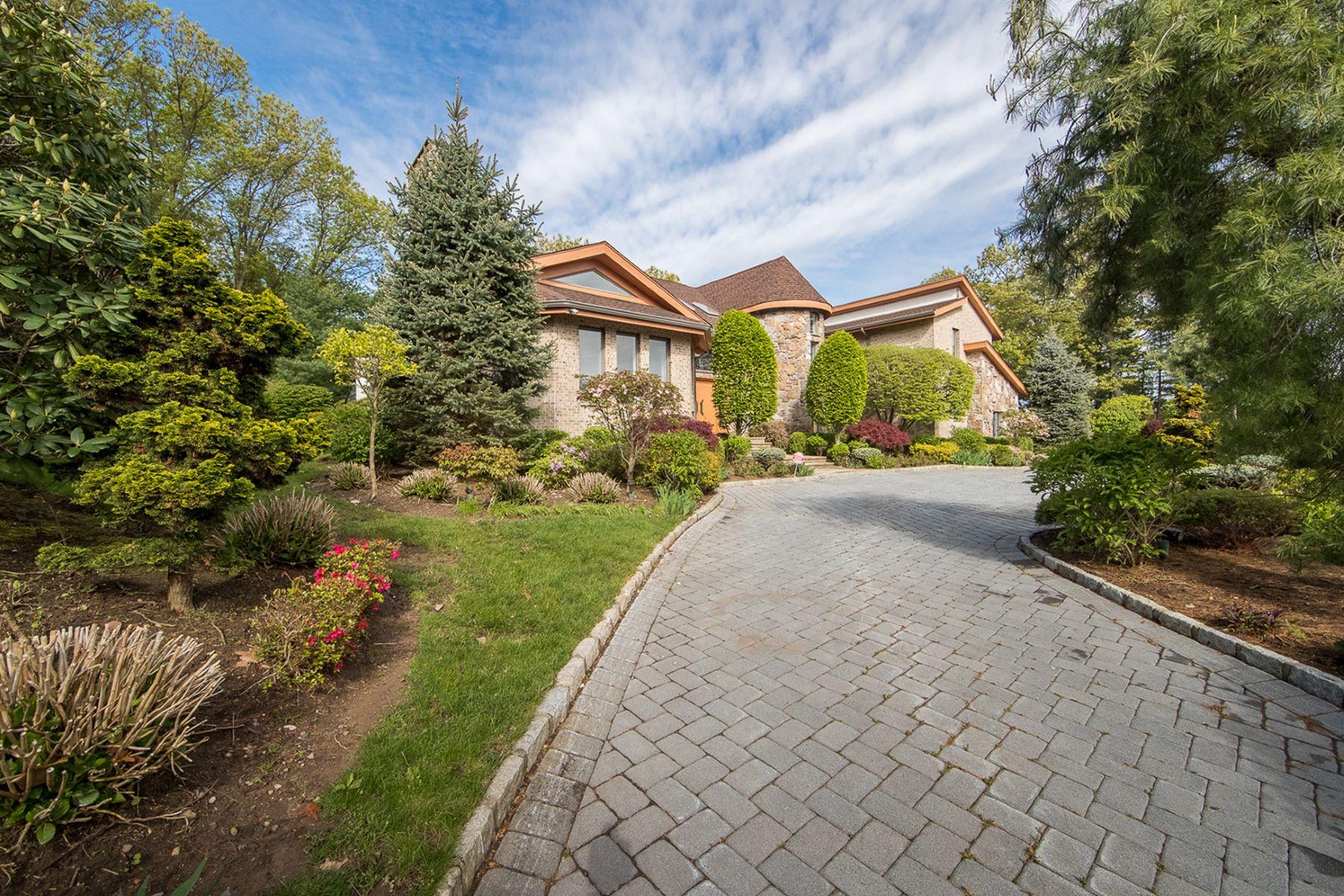 Частный односемейный дом для того Продажа на Rio Vista Contemporary Residence 291 Truman Dr Cresskill, Нью-Джерси, 07624 Соединенные Штаты