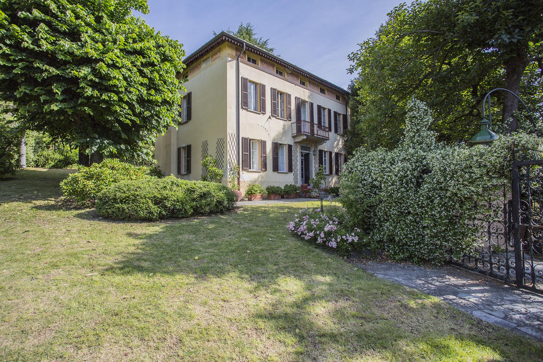 Single Family Home for Sale at Elegant period villa with large park Via Per Vercana Other Como, Como, 22013 Italy