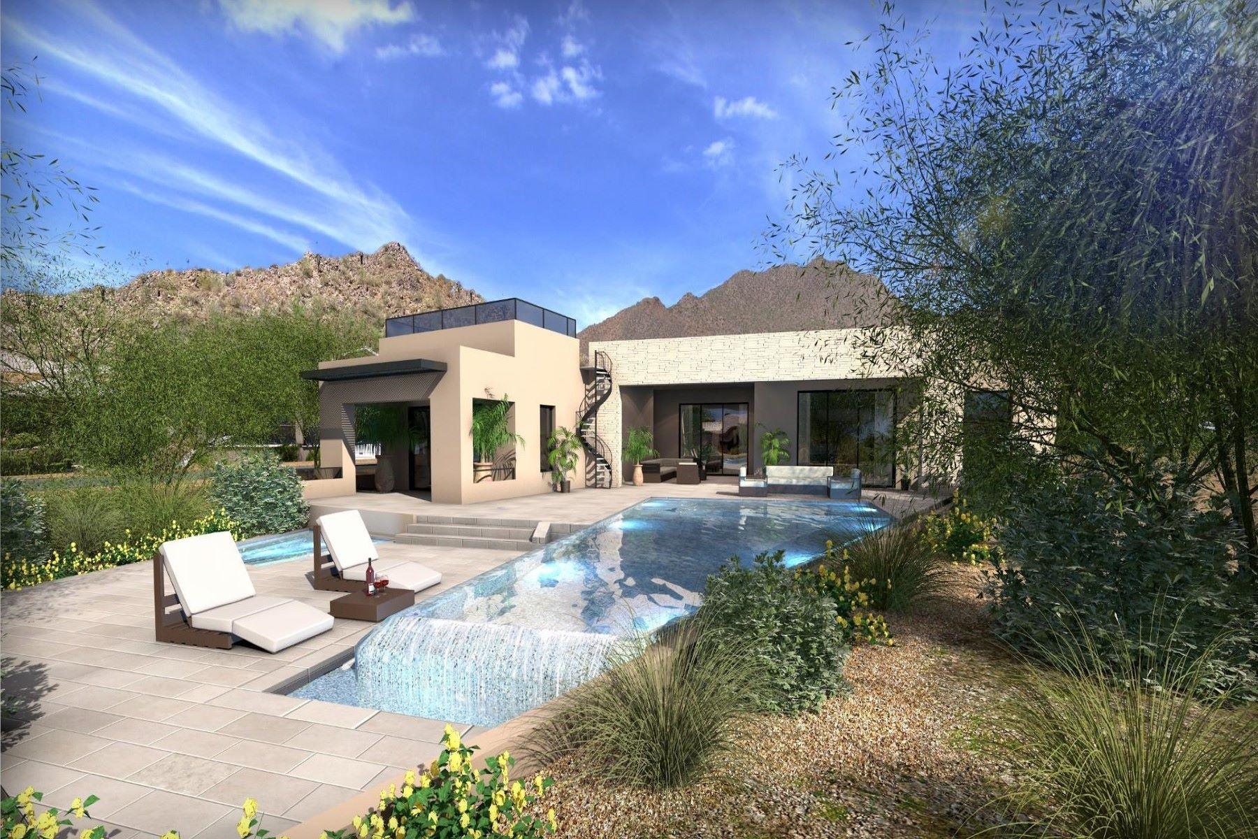 Single Family Homes por un Venta en Copper Canyon at Las Sendas 8035 E COPPER CANYON CIR Mesa, Arizona 85207 Estados Unidos