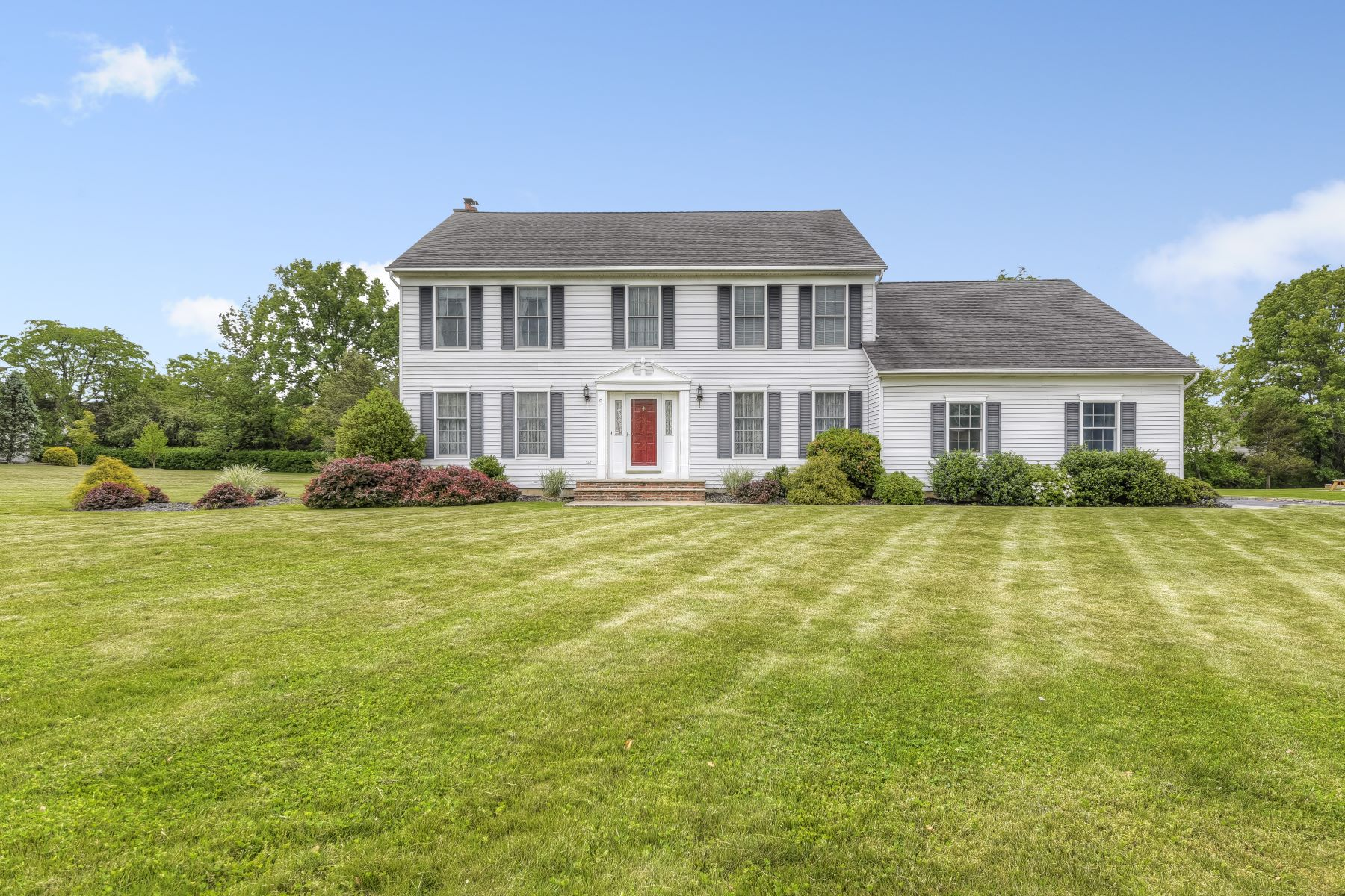 Single Family Home for Sale at Magnificent Colonial 5 Cory Lane Bridgewater, New Jersey 08807 United States