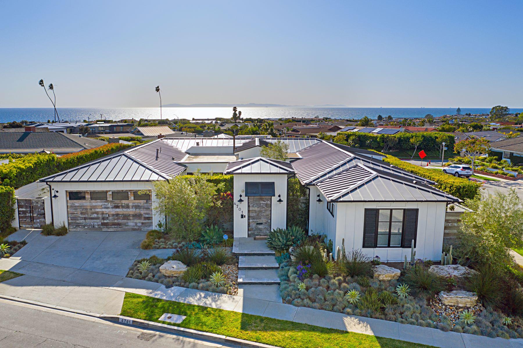Single Family Homes para Venda às 4701 Dorchester Road, Corona Del Mar Corona Del Mar, Califórnia 92625 Estados Unidos