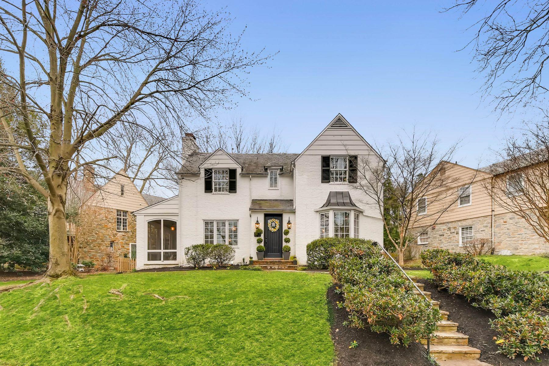 Частный односемейный дом для того Продажа на Homeland 217 Witherspoon Road, Homeland, Baltimore, Мэриленд, 21212 Соединенные Штаты