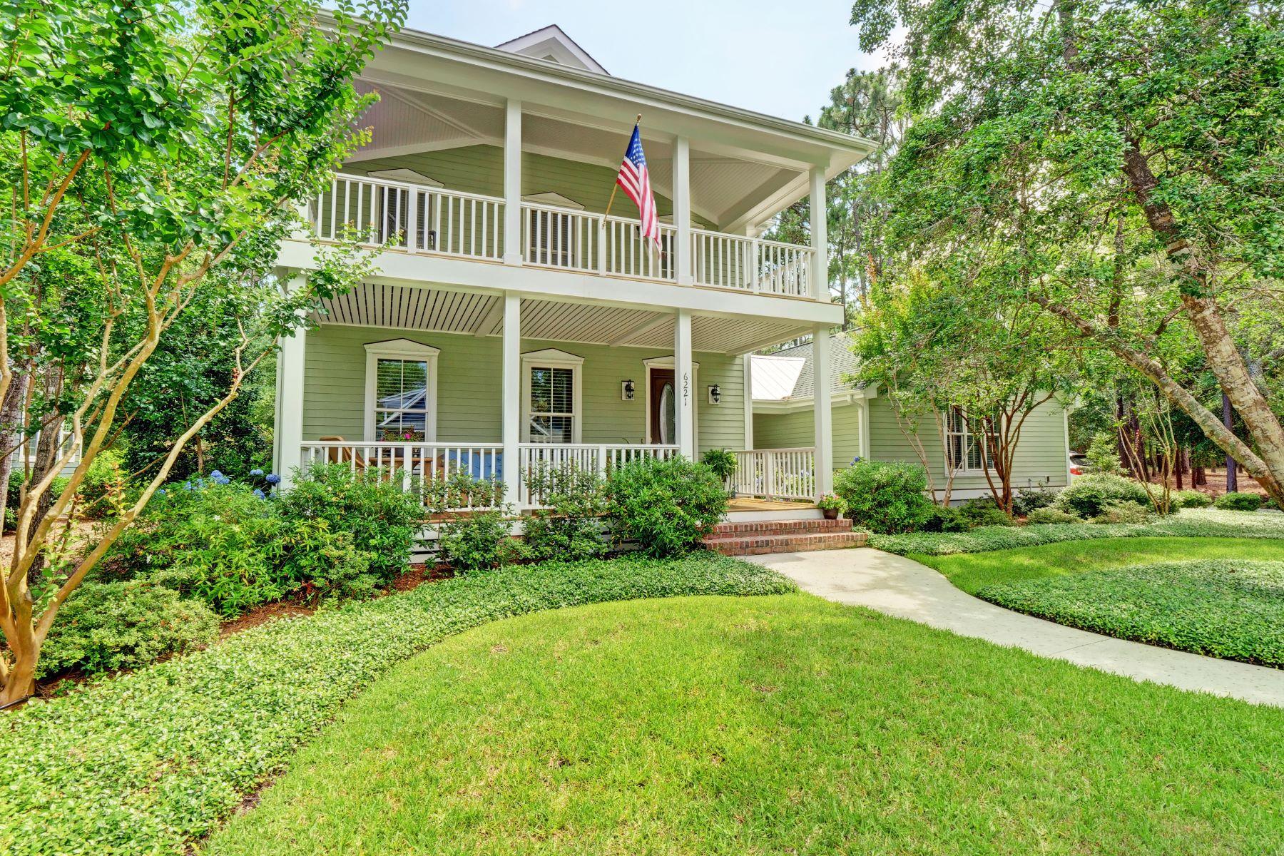 Single Family Home for Active at Custom Home with Serene Natural Environment 6221 Navigator Way Southport, North Carolina 28461 United States
