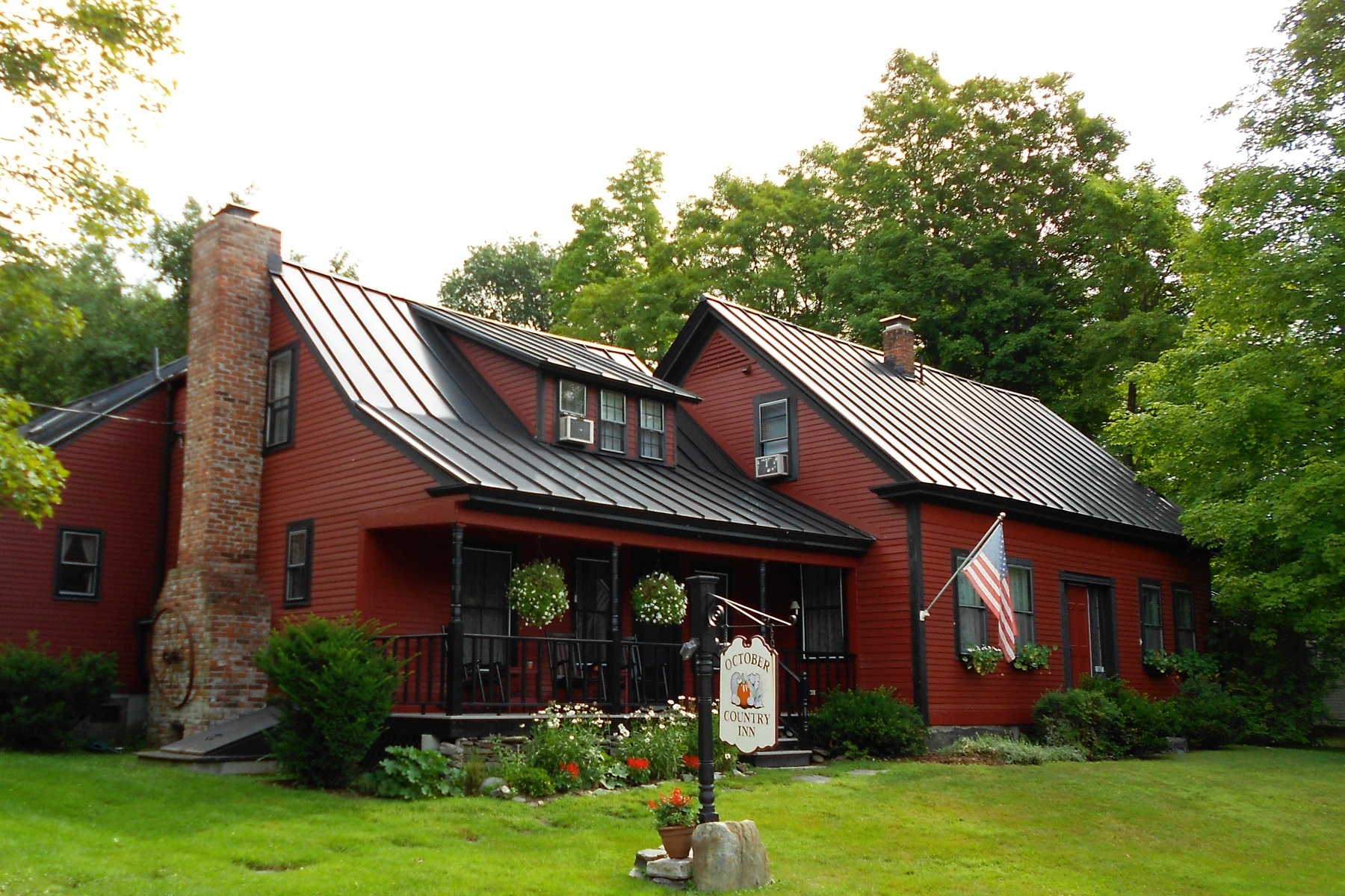 Bed and Breakfast for Sale at October Country Inn 362 Upper Road Bridgewater, Vermont 05035 United States