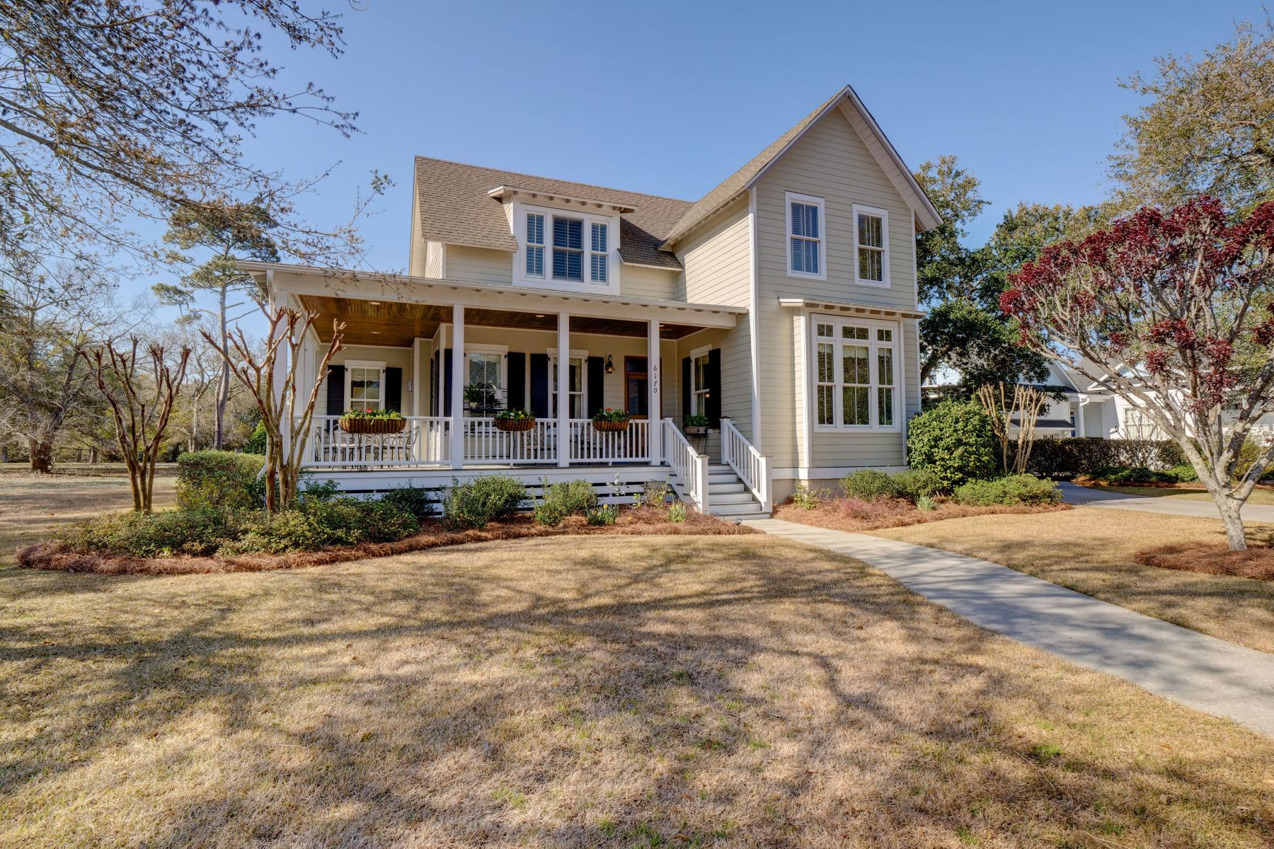 Single Family Home for Sale at Cottage Style Home Charming and Impeccably Maintained 6170 River Sound Circle Southport, North Carolina 28461 United States