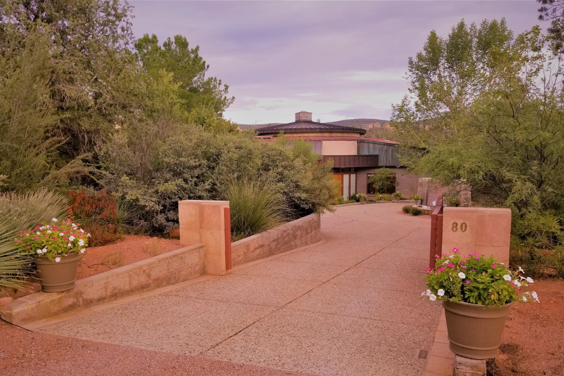 single family homes for Active at Magnificent One of a Kind Property 80 E Wing Drive Sedona, Arizona 86336 United States