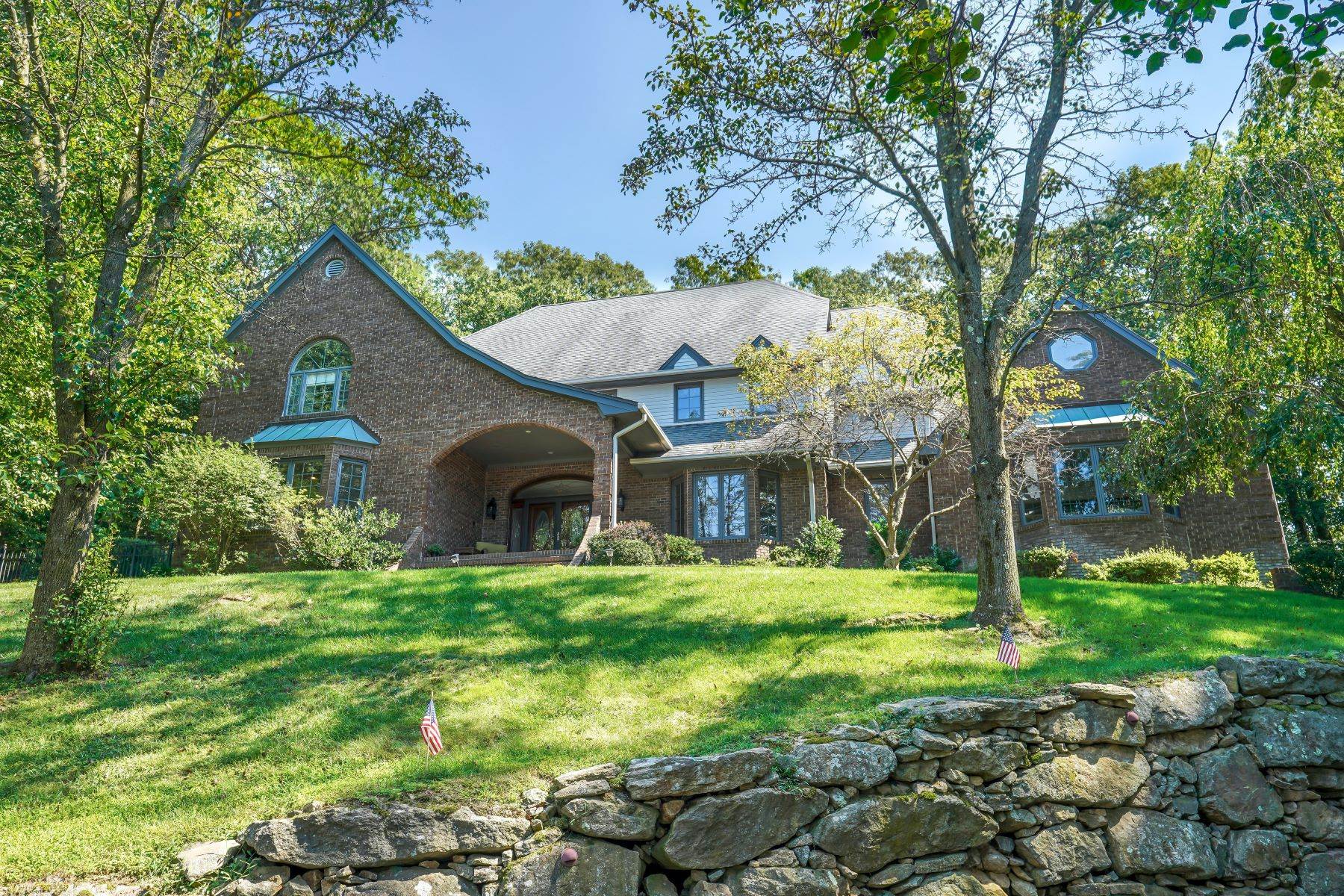 Single Family Homes for Active at Stunning Custom Built Home 14 North Ridge Road Denville, New Jersey 07834 United States